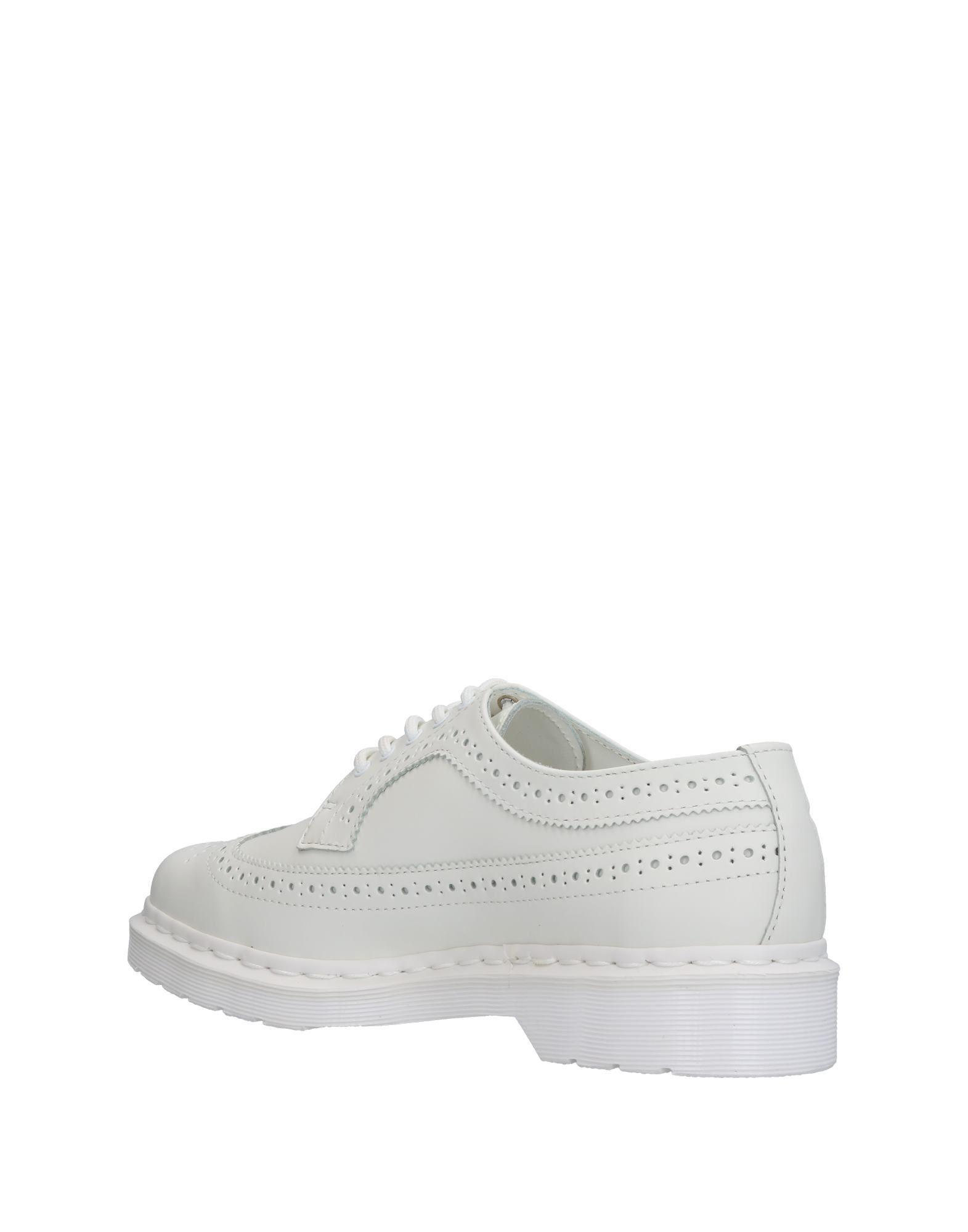 Dr. Martens Leather Lace-up Shoe in White for Men