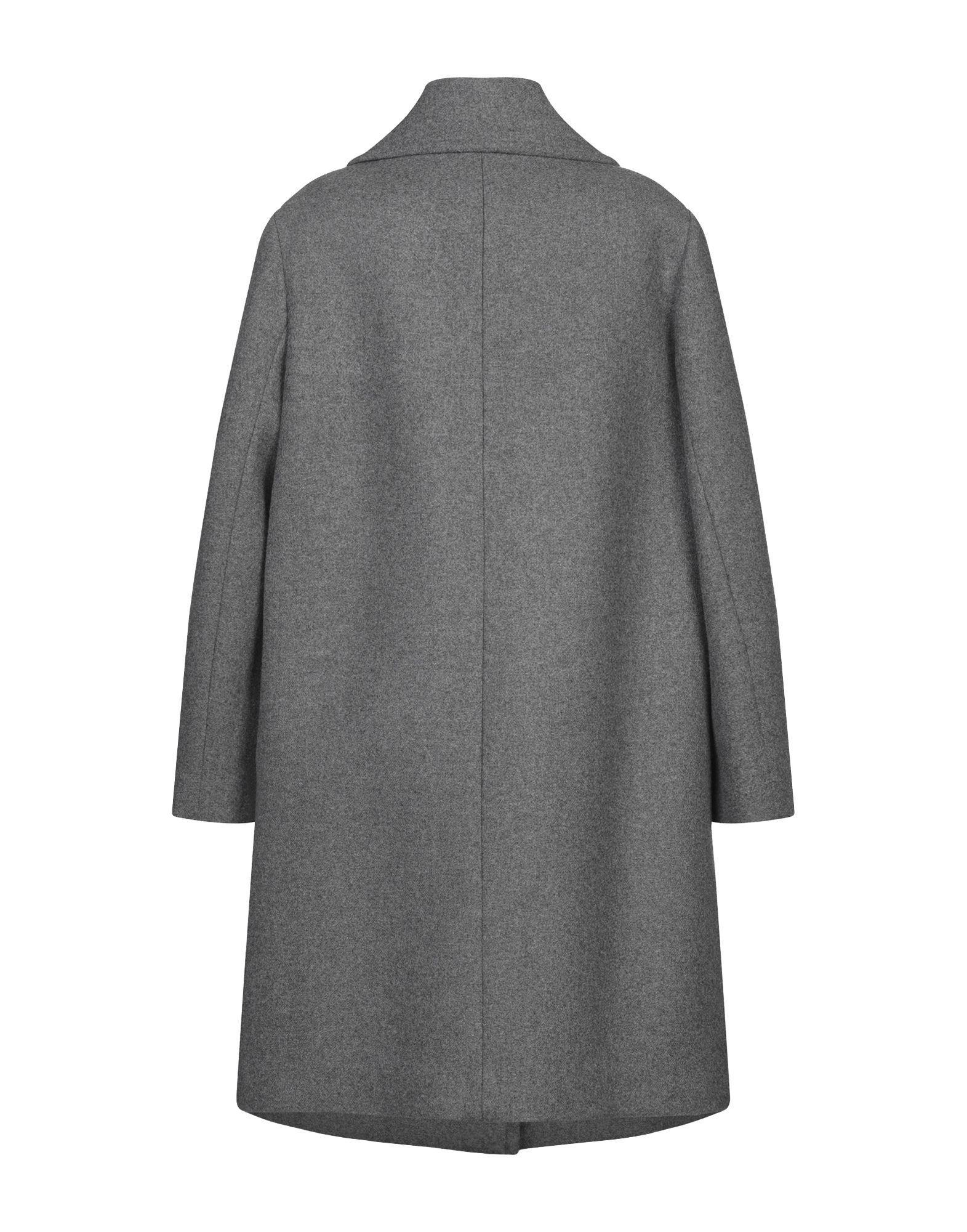Manteau long Flannelle DKNY en coloris Gris B3d2g
