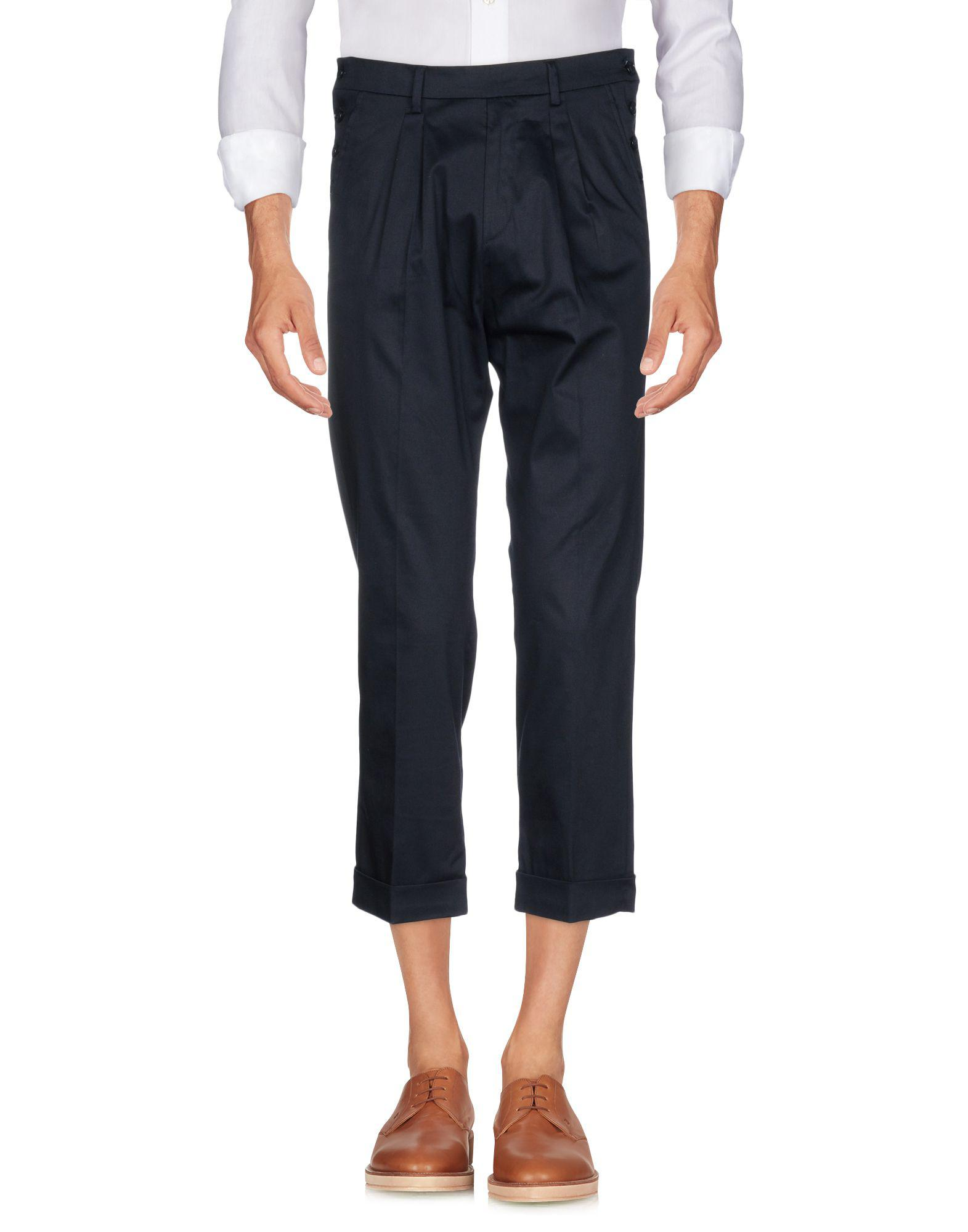 Alessandro Dell'acqua Cotton Casual Pants in Dark Blue (Blue) for Men