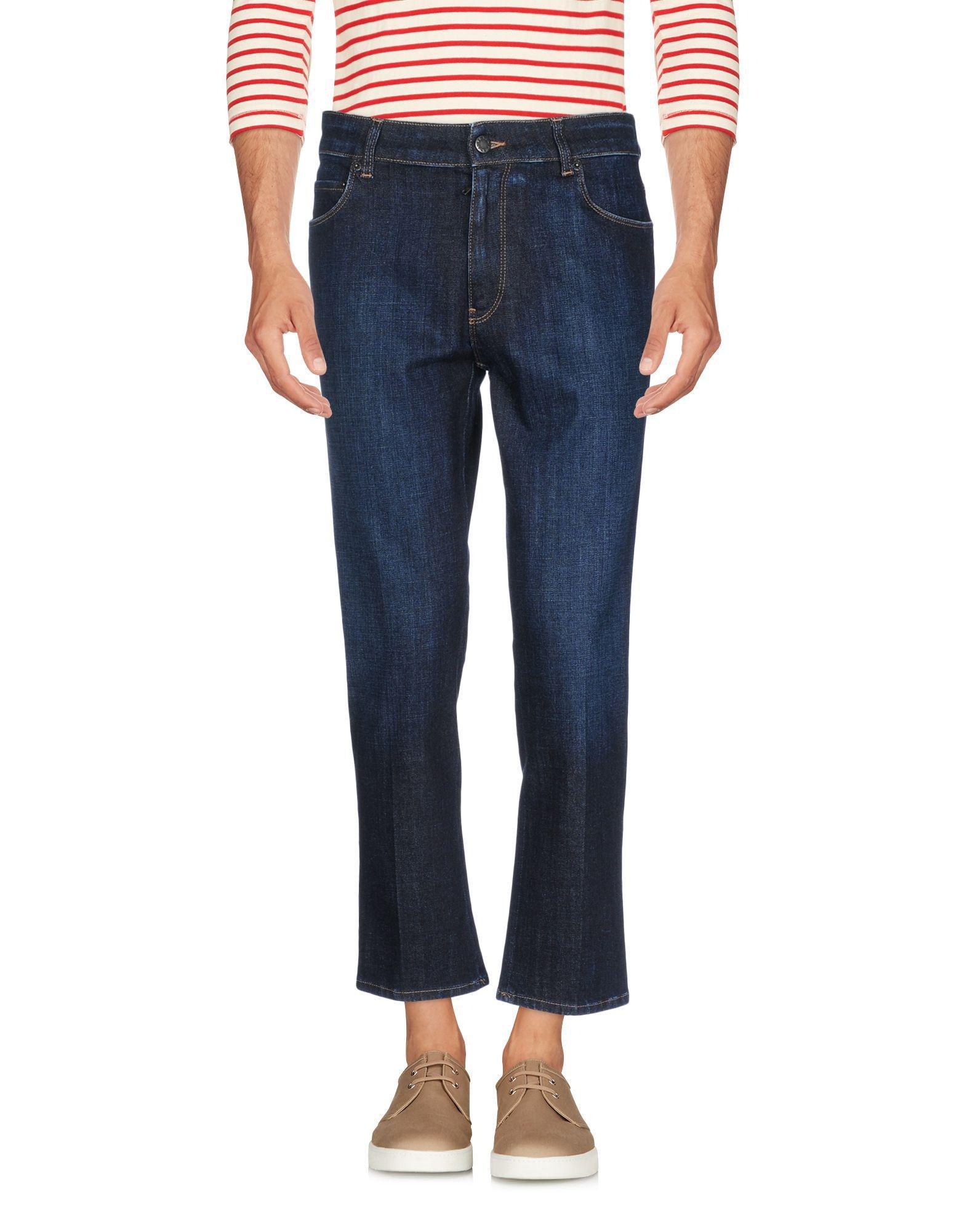 bf8b630e958b7 Lyst - Pantalon en jean Prada pour homme en coloris Bleu