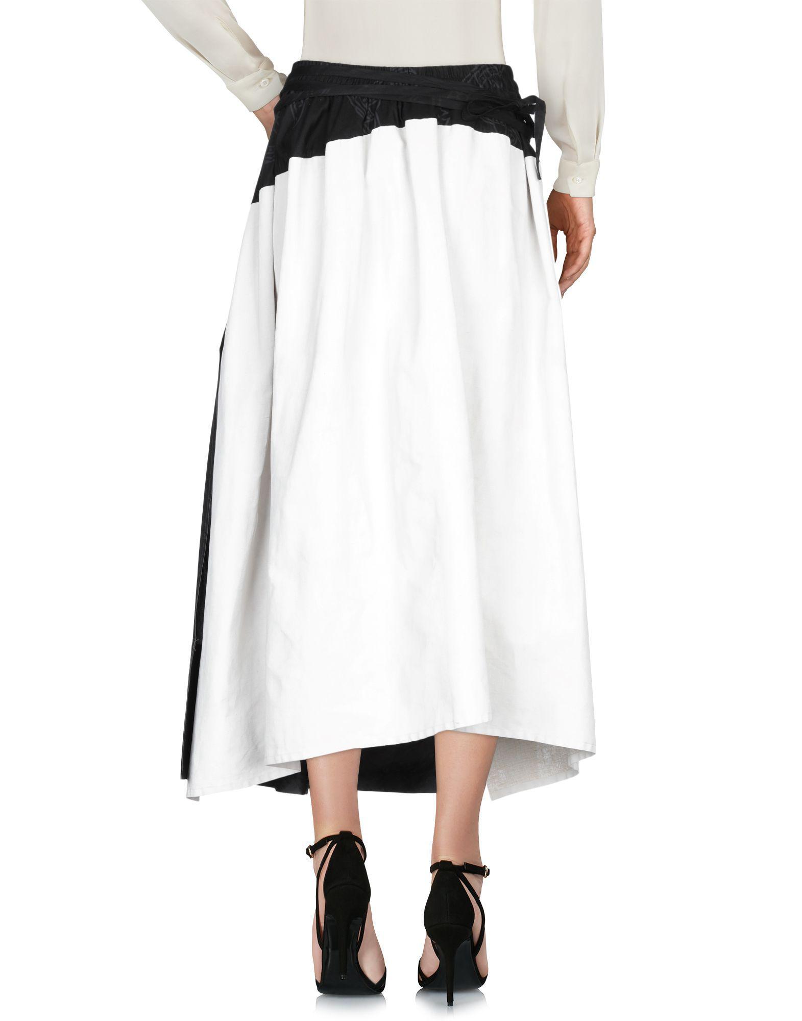75842a528e Lyst - Vivienne Westwood Long Skirt in Black