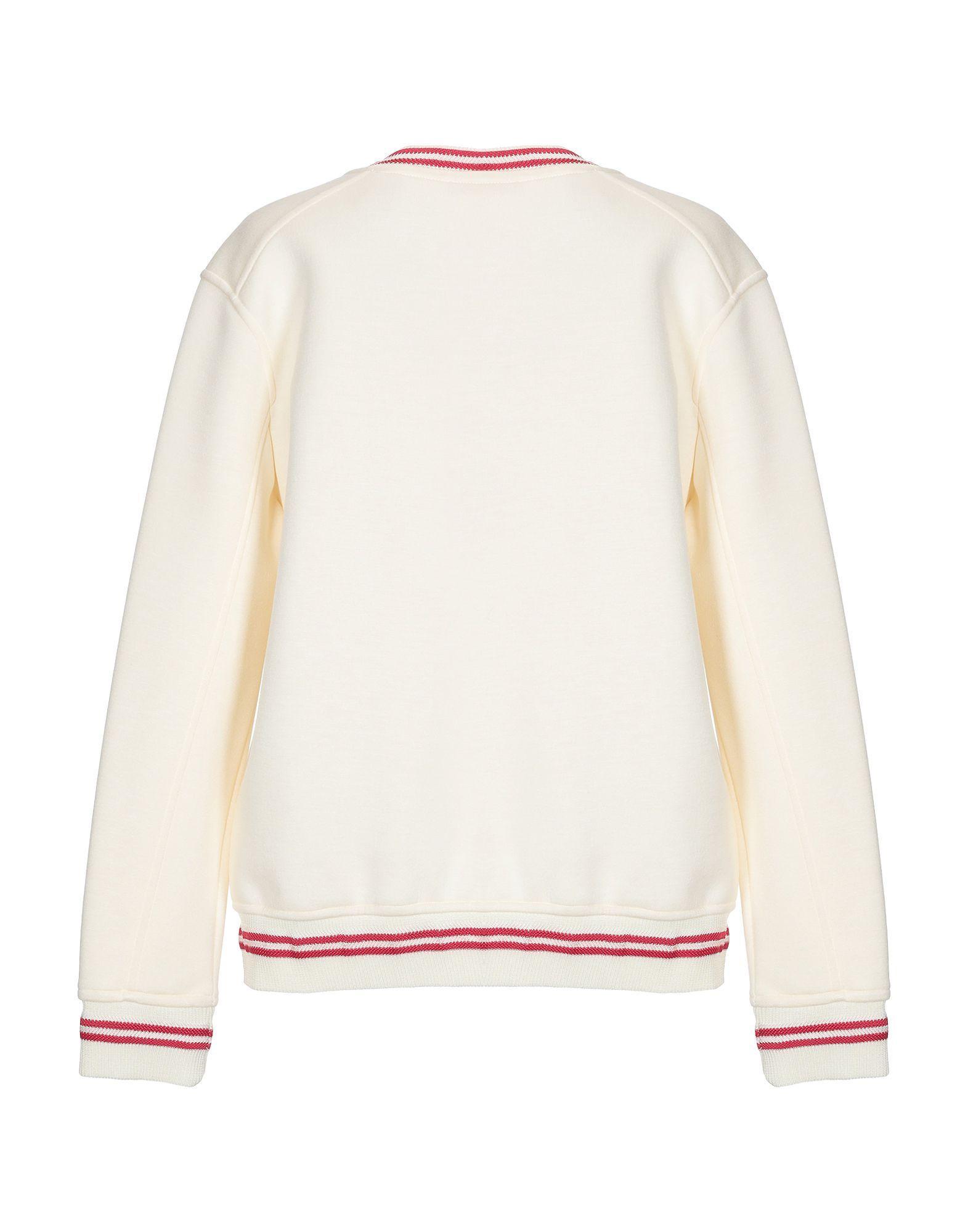 0191239ffd Lyst - Maje Sweatshirt in White - Save 23%