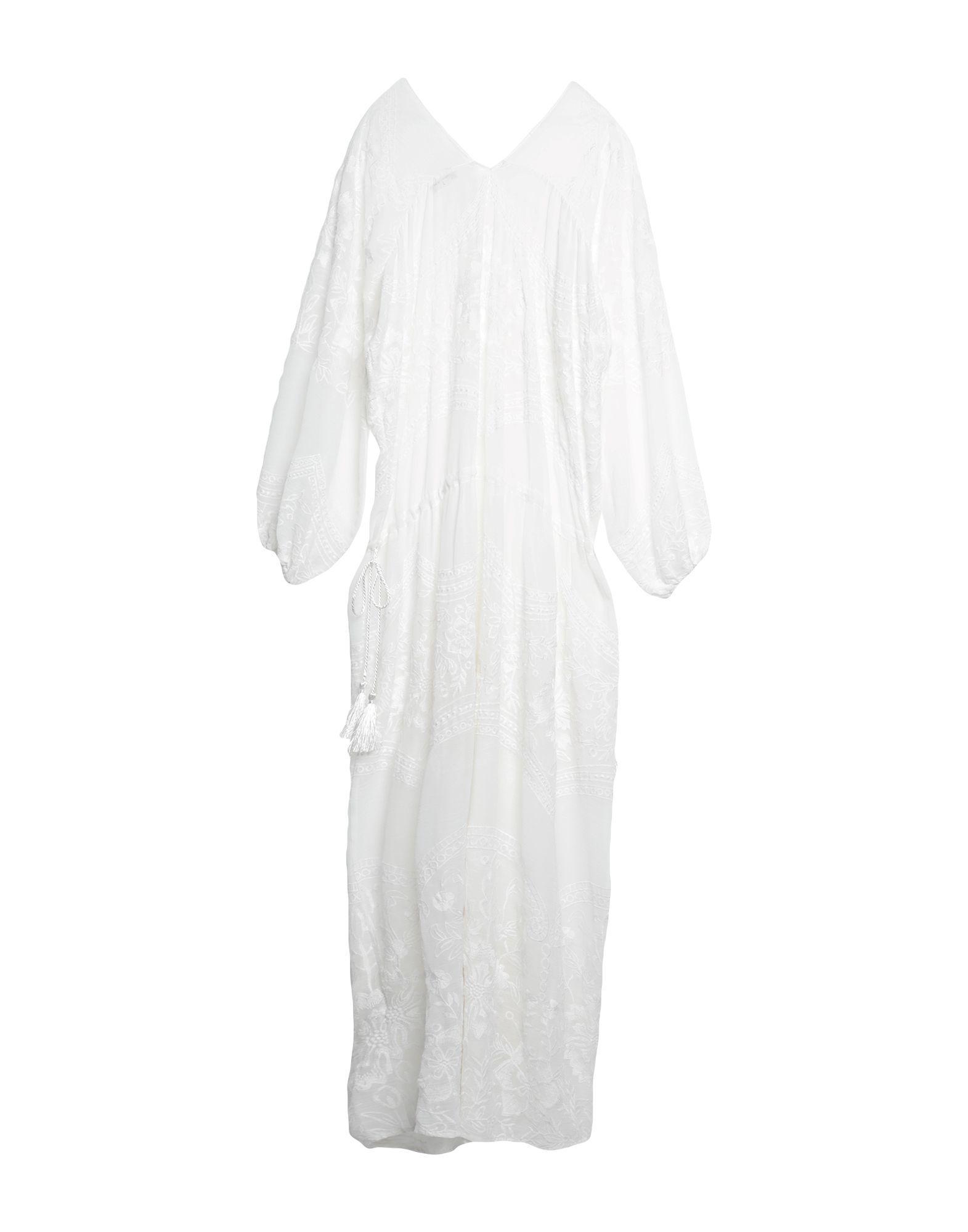 Robe longue Synthétique By Malene Birger en coloris Blanc