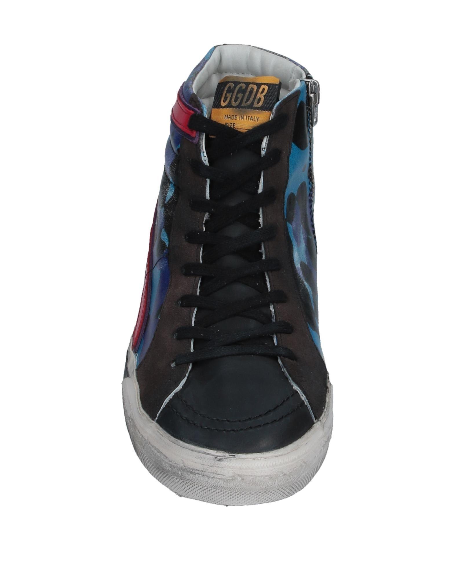 Sneakers abotinadas Golden Goose Deluxe Brand de Ante de color Negro para hombre