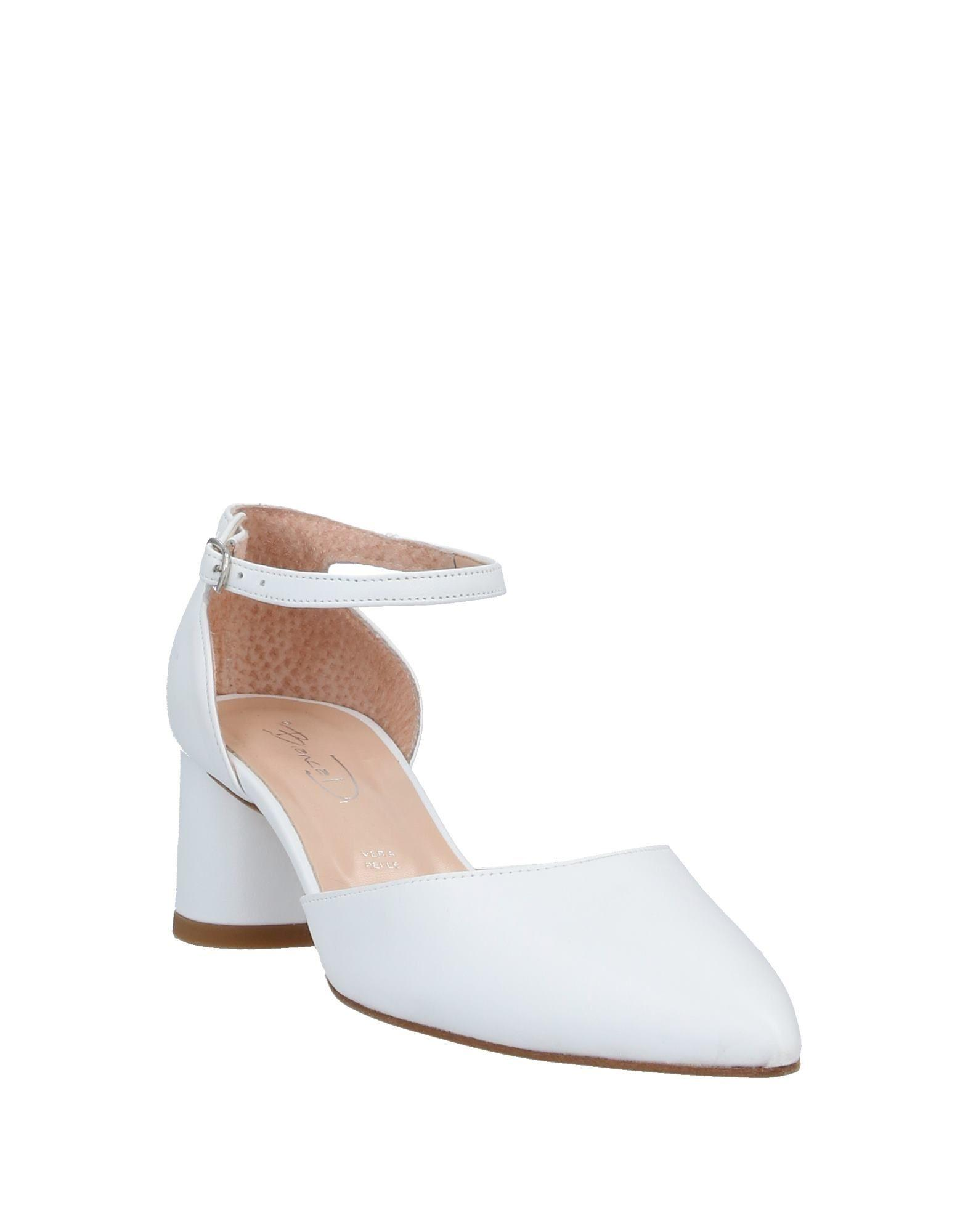 Zapatos de salón Bianca Di de Cuero de color Blanco