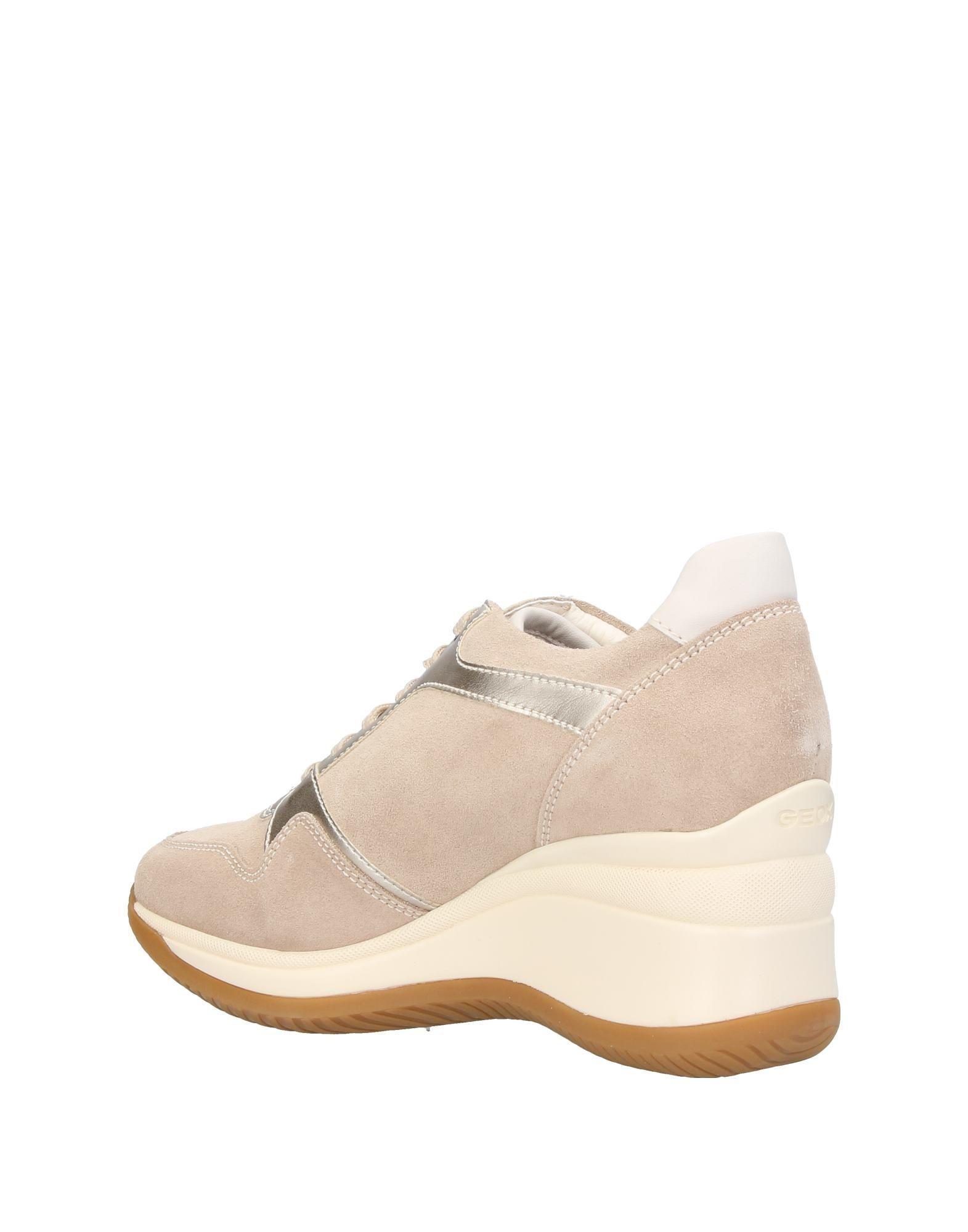 Geox Suede Low-tops & Sneakers in Beige (Natural)