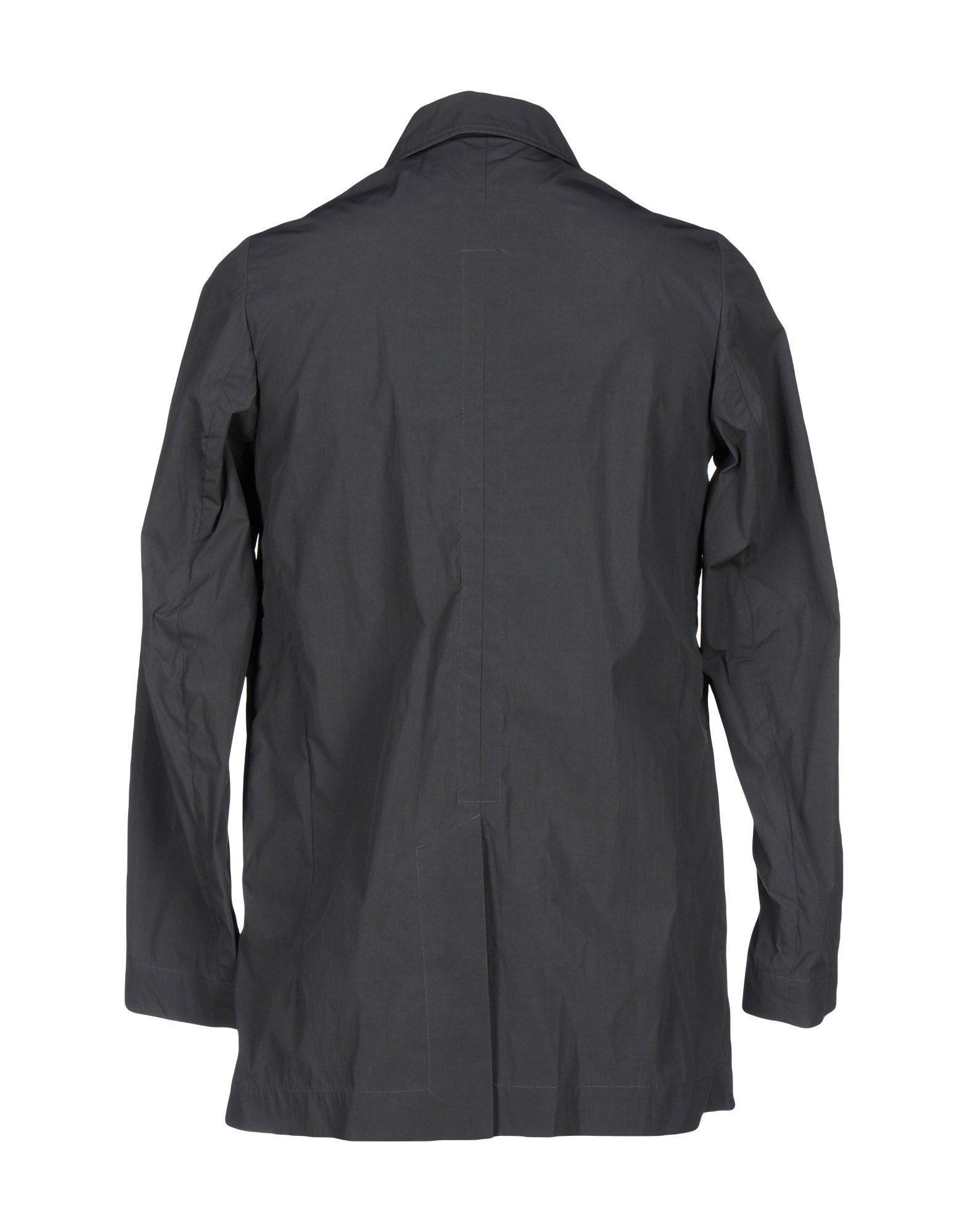 Folk Synthetic Jacket in Lead (Grey) for Men