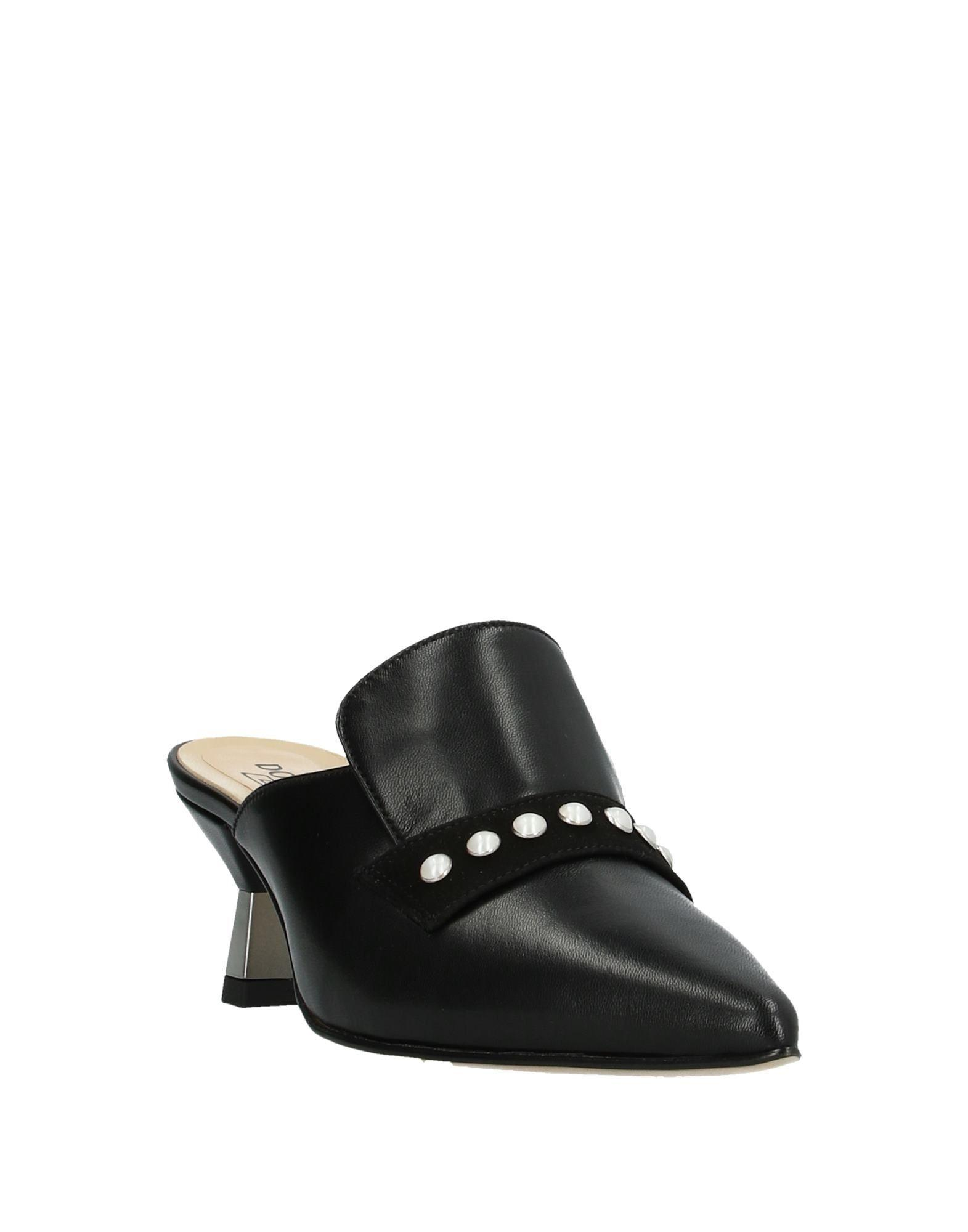 Mules & Zuecos Donna Soft de Ante de color Negro