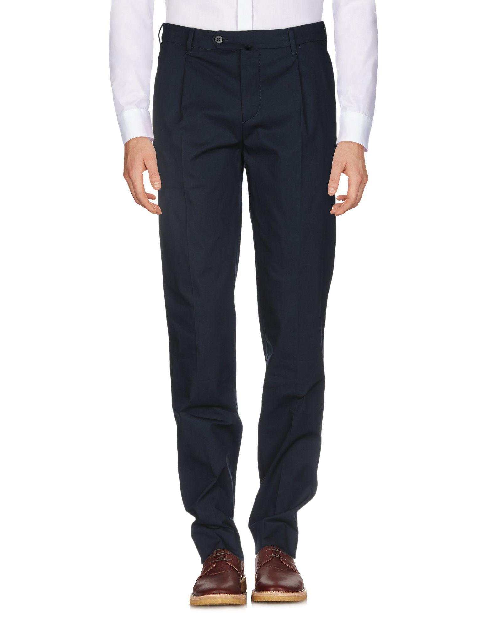Pantalon Coton Pal Zileri pour homme en coloris Bleu