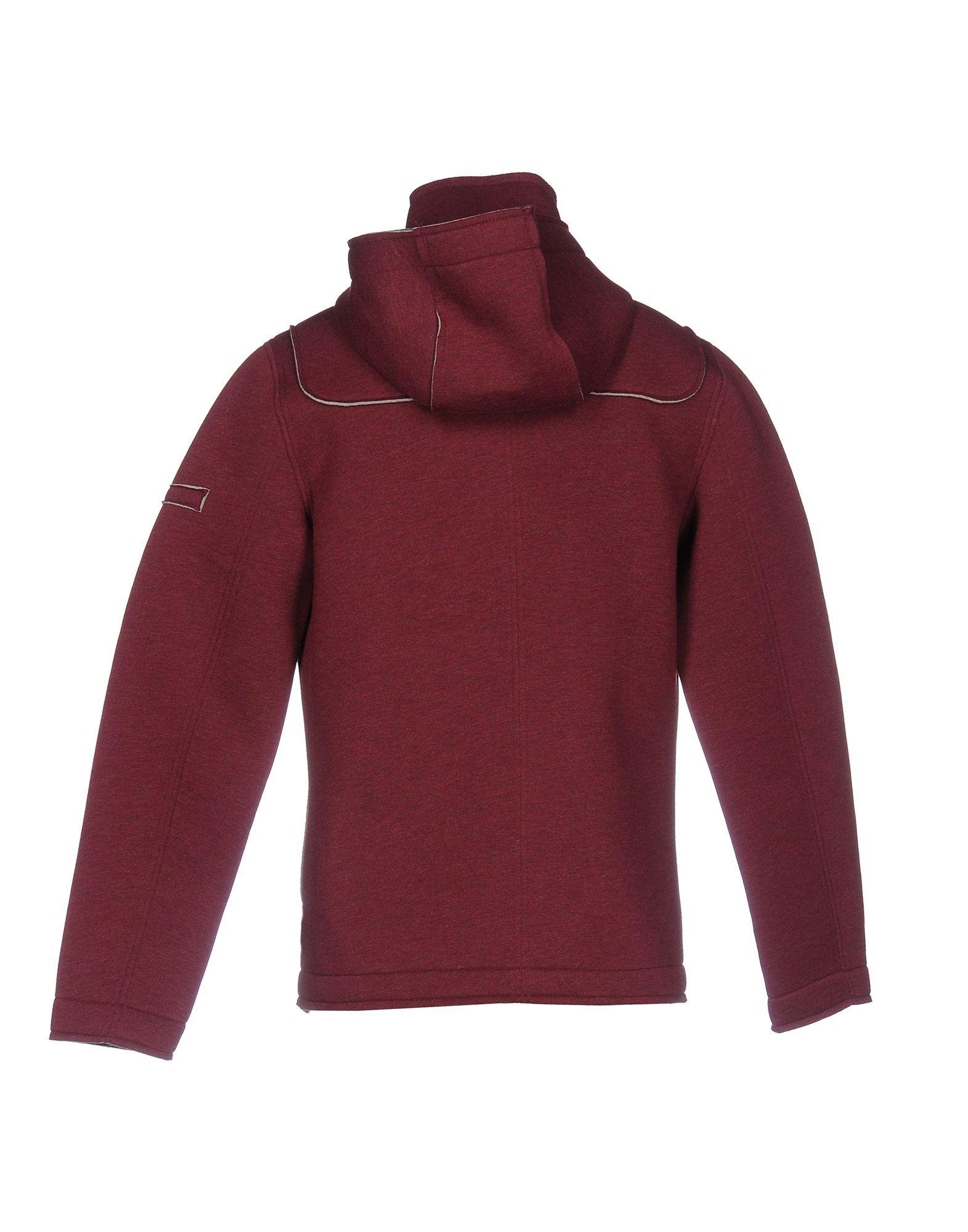 Gas Neoprene Jacket in Maroon (Red) for Men