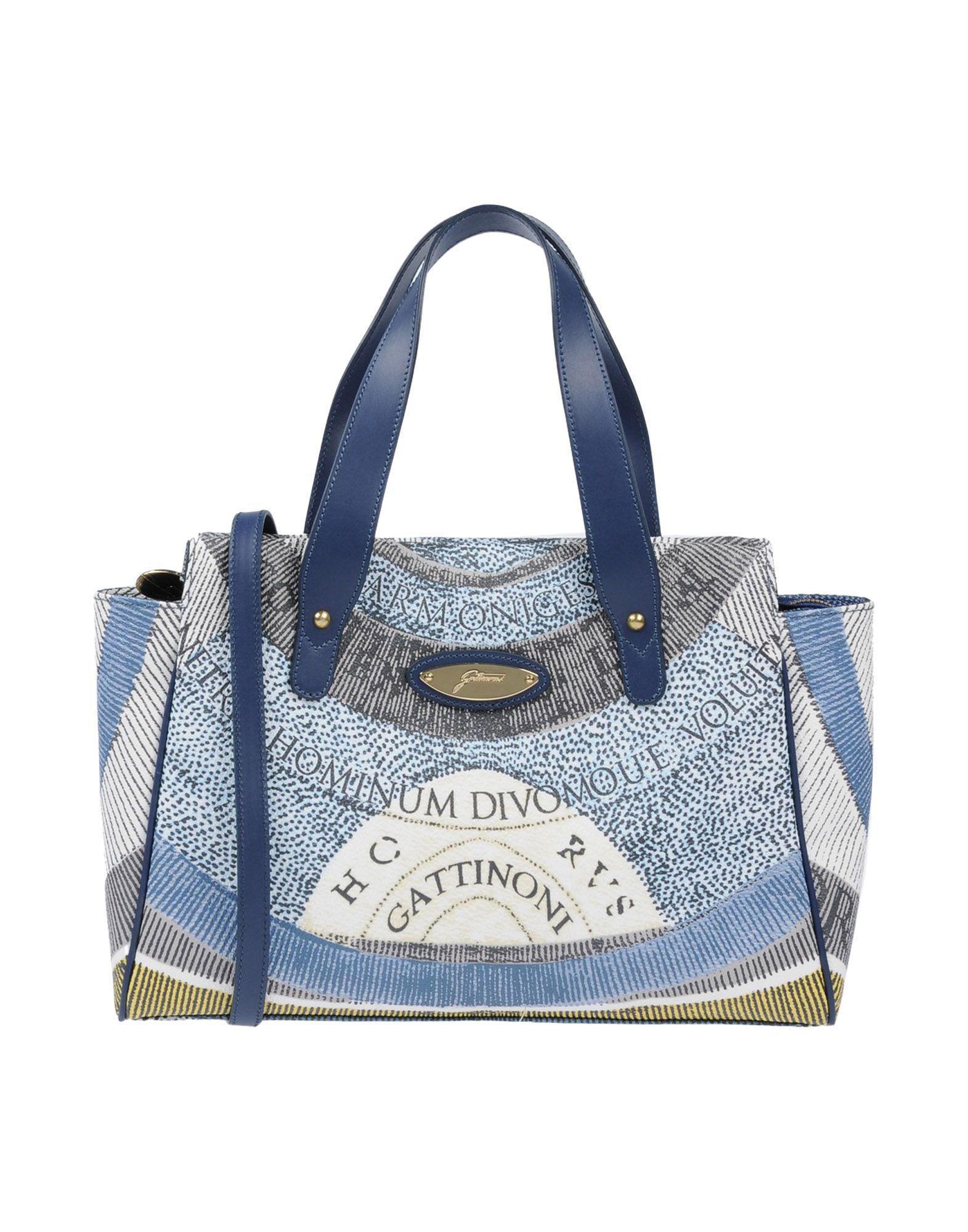 Gattinoni - Blue Handbag - Lyst. View fullscreen f5dd4cf56e