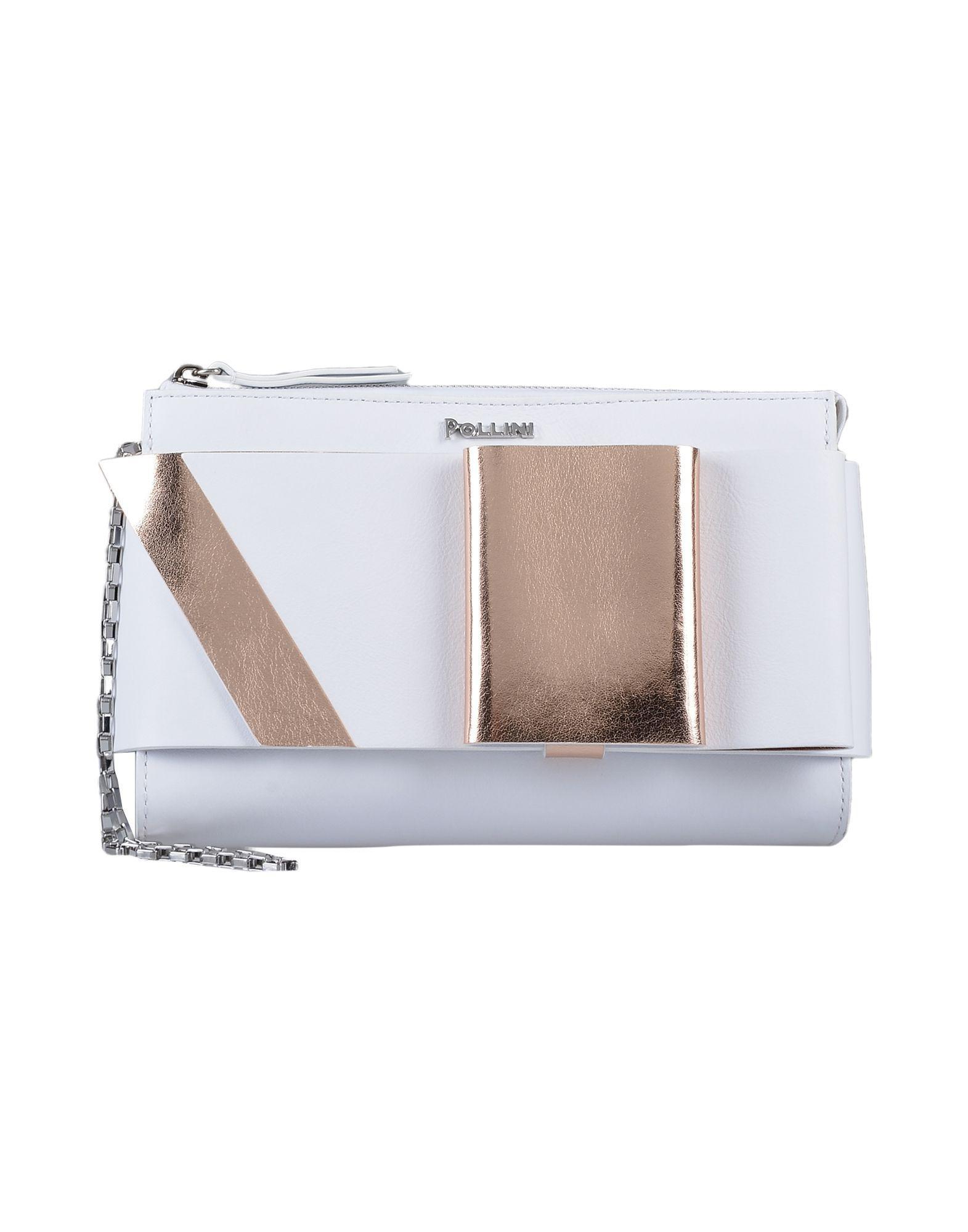 cf724dc5d Pollini. Bolso de mano de mujer de color blanco