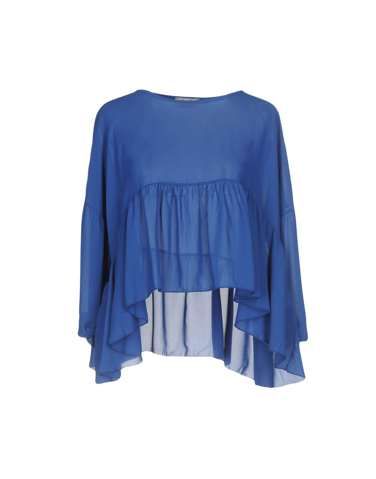 Lyst Twenty Easy By Kaos Blouse In Blue Dior Gallery