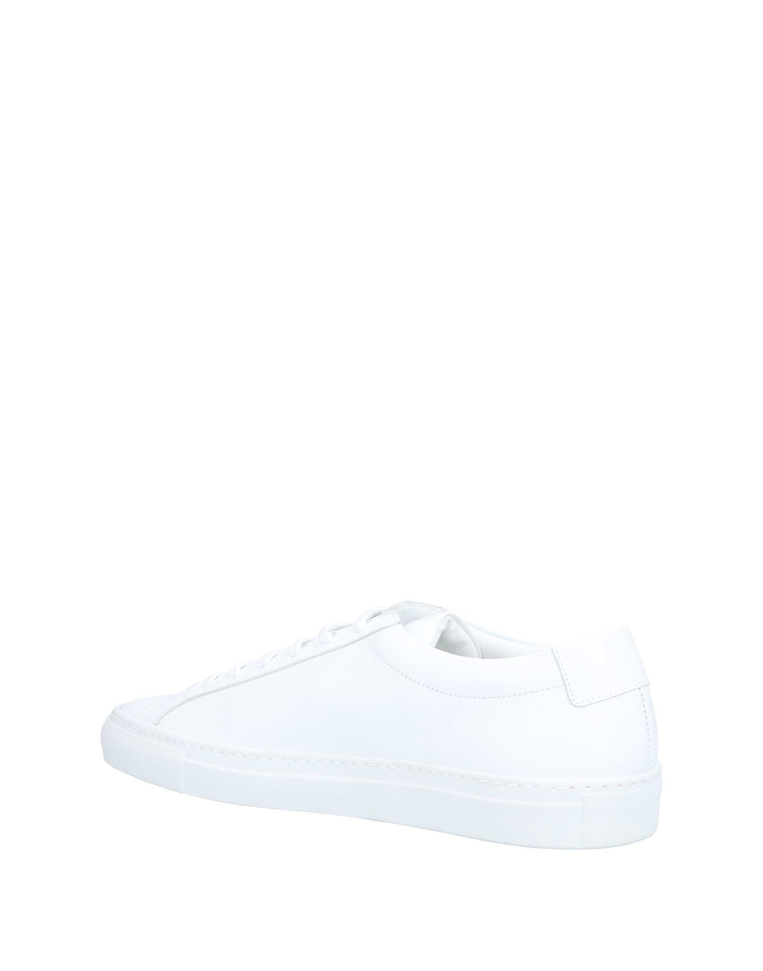 Sneakers & Deportivas Common Projects de Cuero de color Blanco para hombre