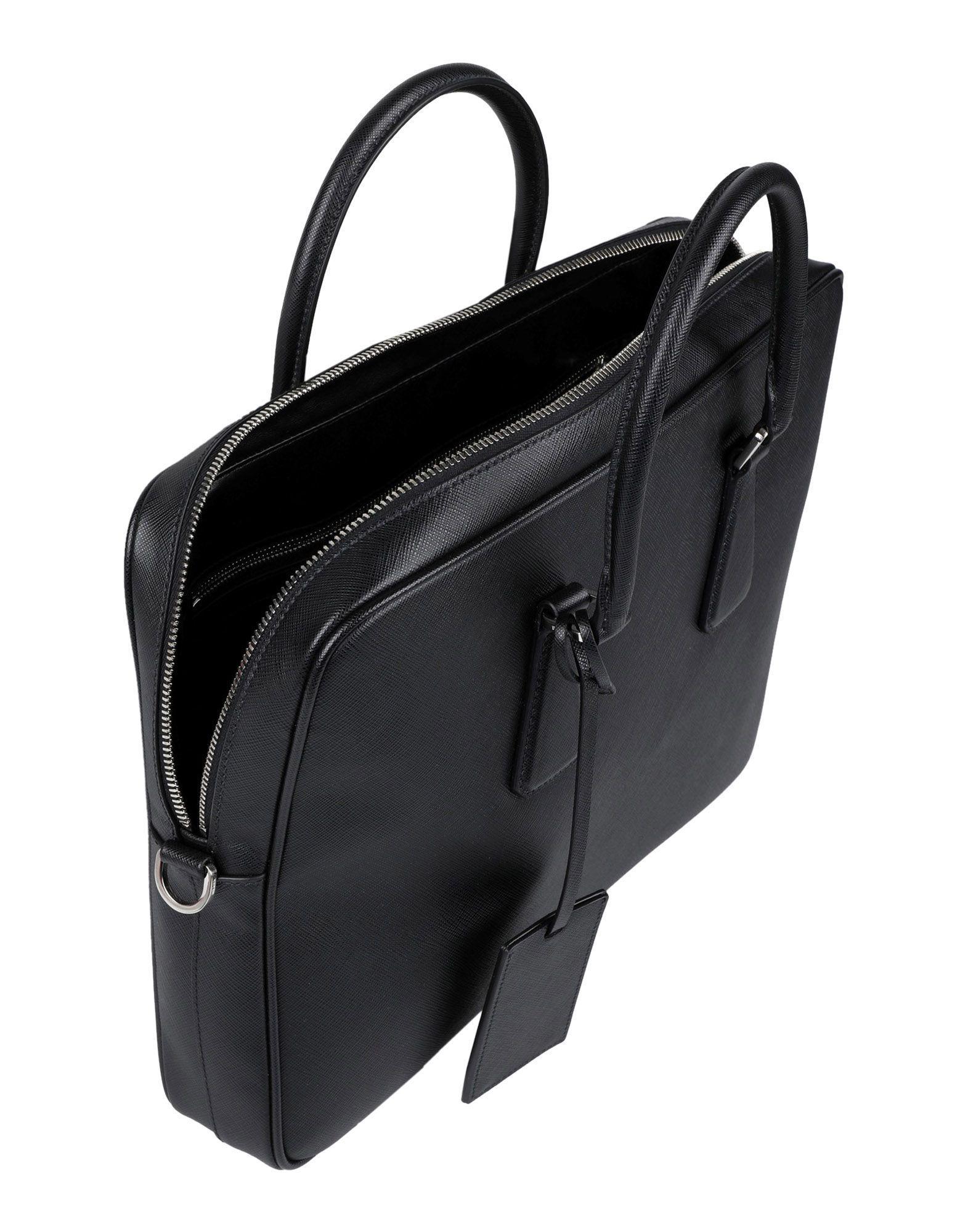 dcf2c52b Prada Black Work Bags for men