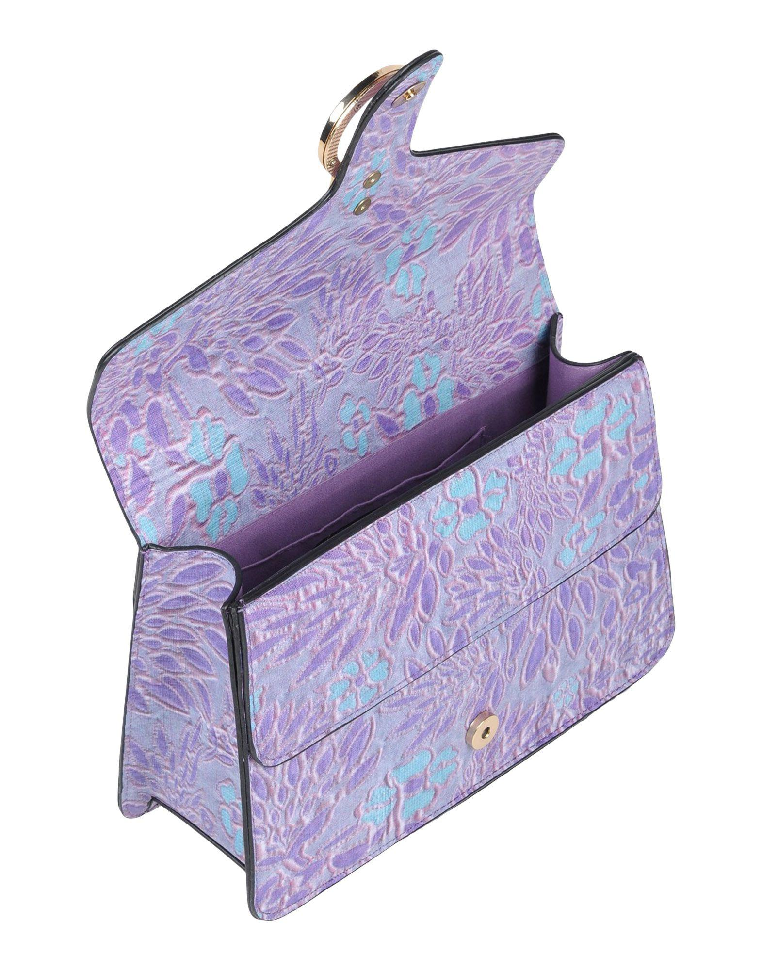 Traffic People Cross-body Bag in Purple