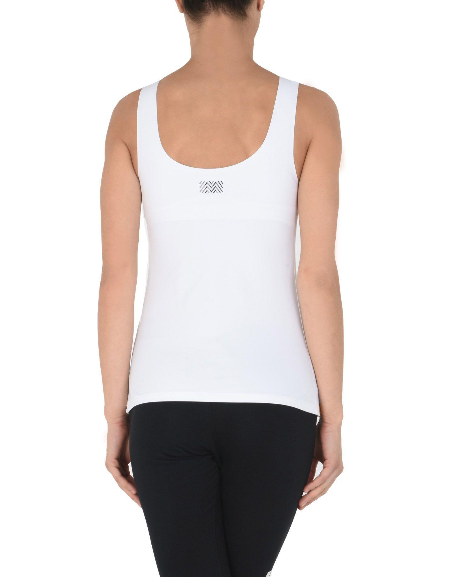 Camiseta de tirantes Monreal London de Tejido sintético de color Blanco
