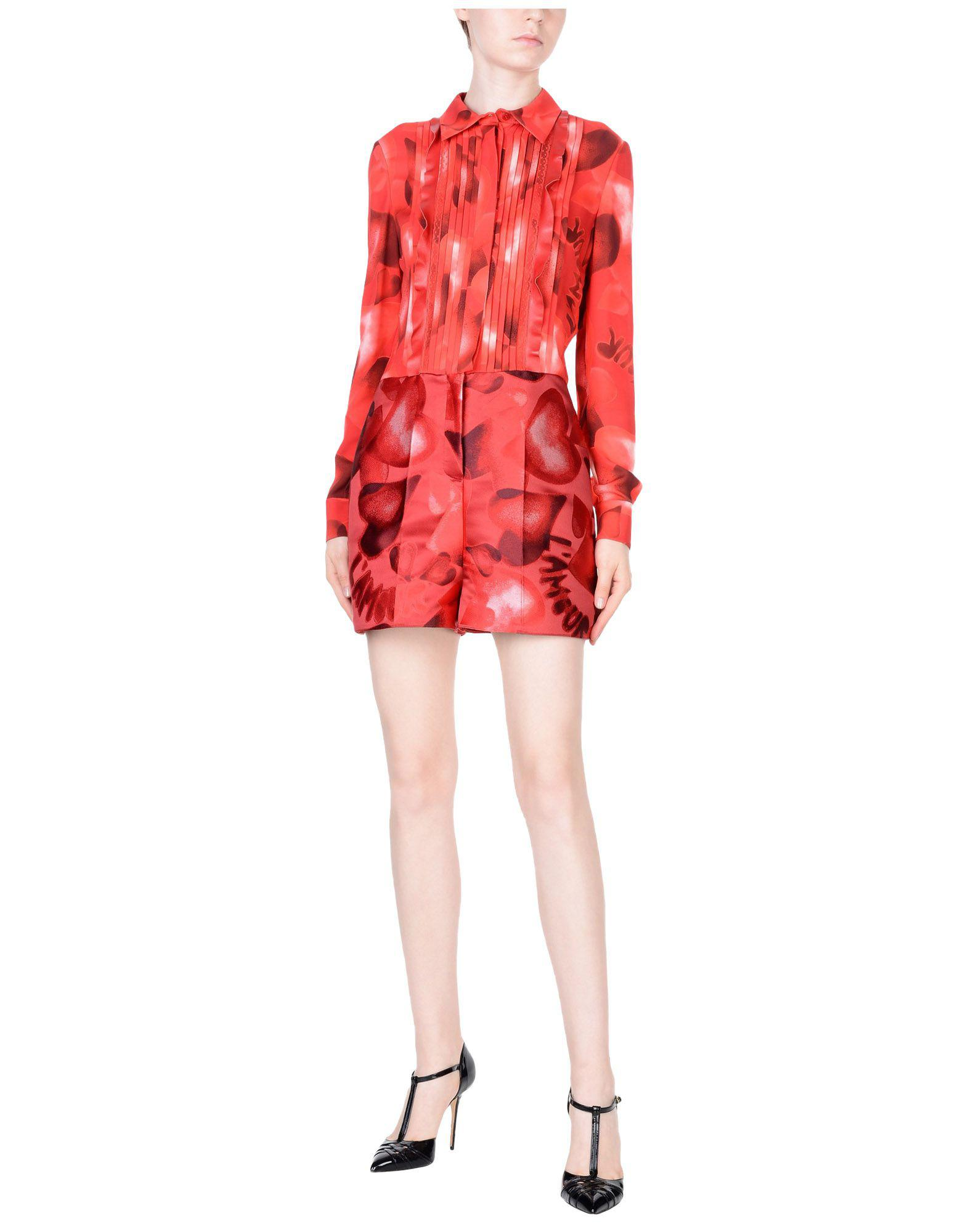 92344167cf Valentino Jumpsuit in Red - Lyst