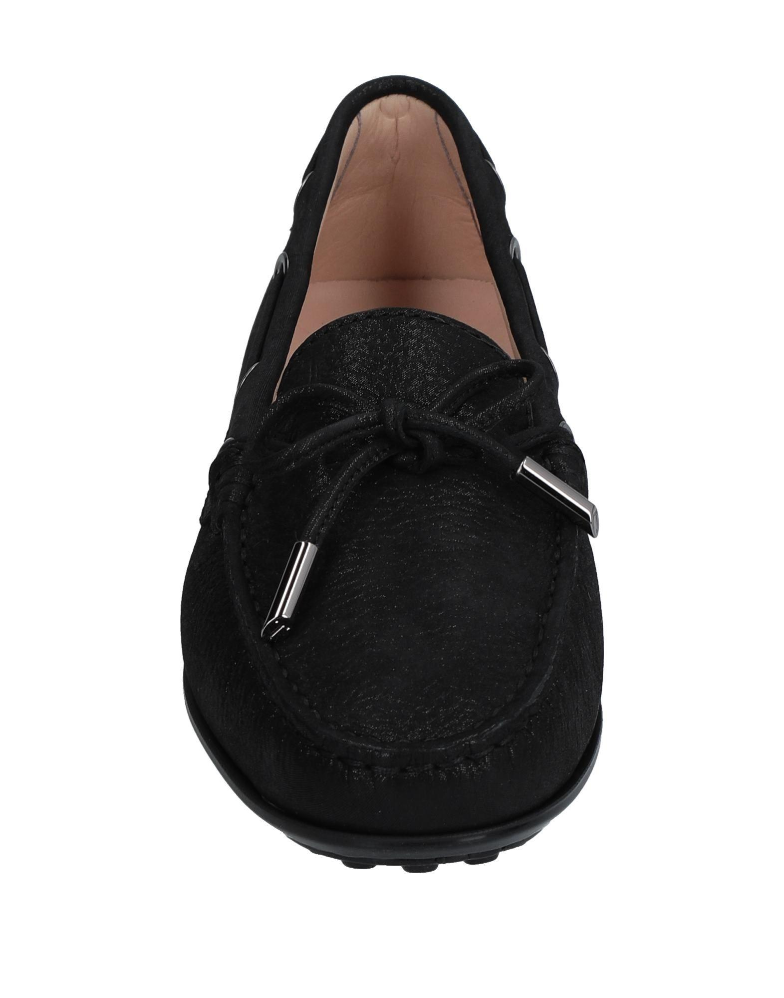 Mocasines Tod's de Cuero de color Negro