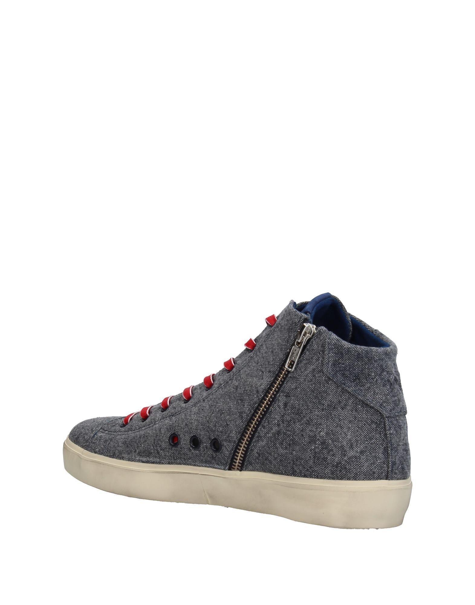 Sneakers abotinadas Leather Crown de hombre