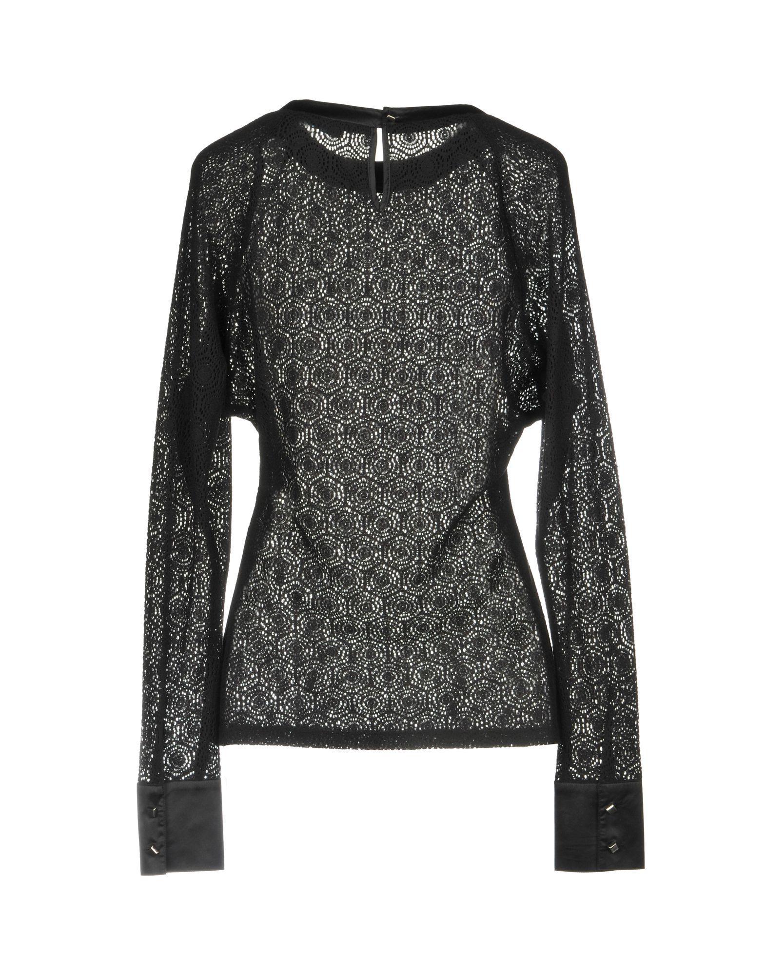 Pullover Coton Marciano en coloris Noir