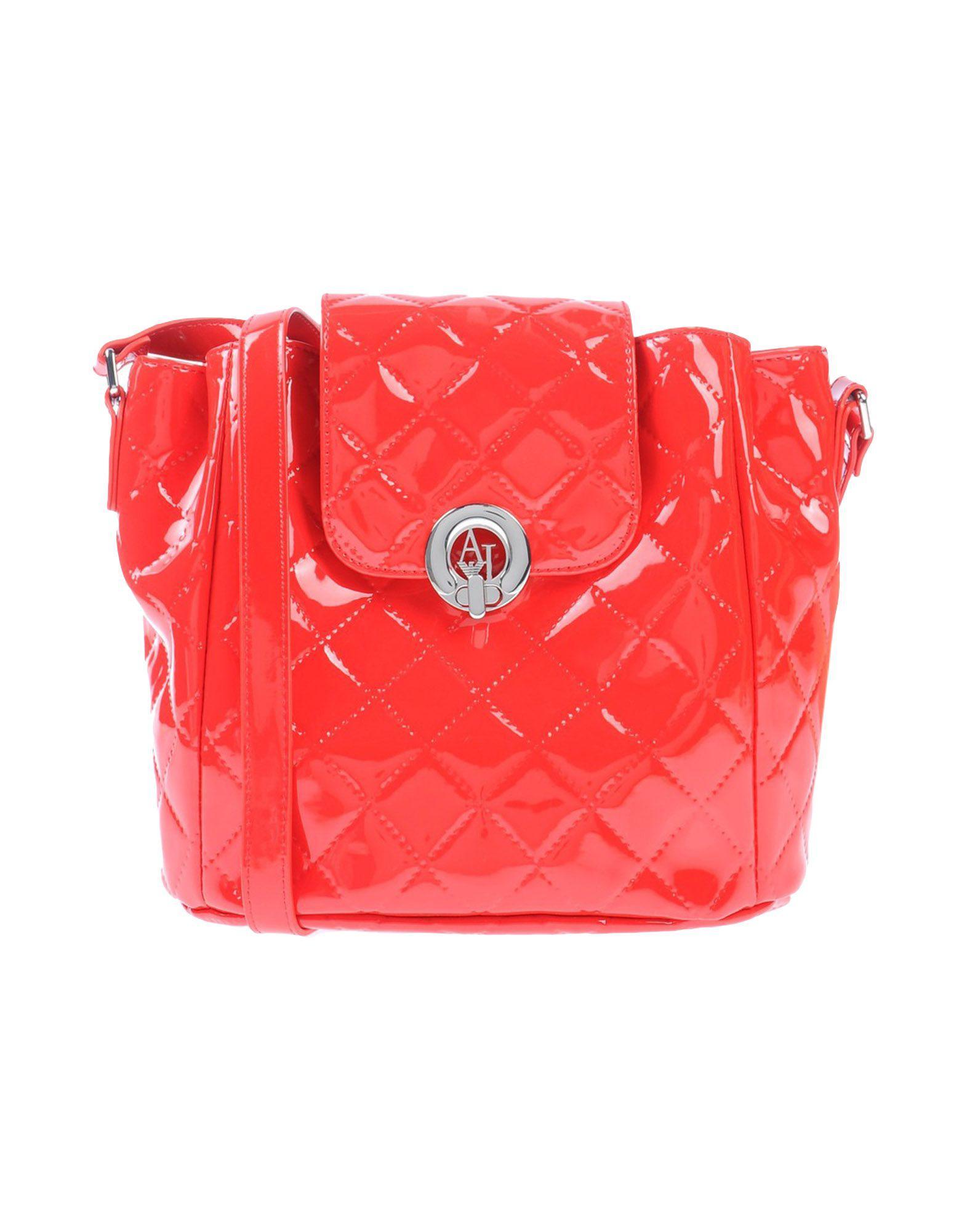 Lyst - Sacs Bandoulière Armani Jeans en coloris Rouge 0a6b9fd04312