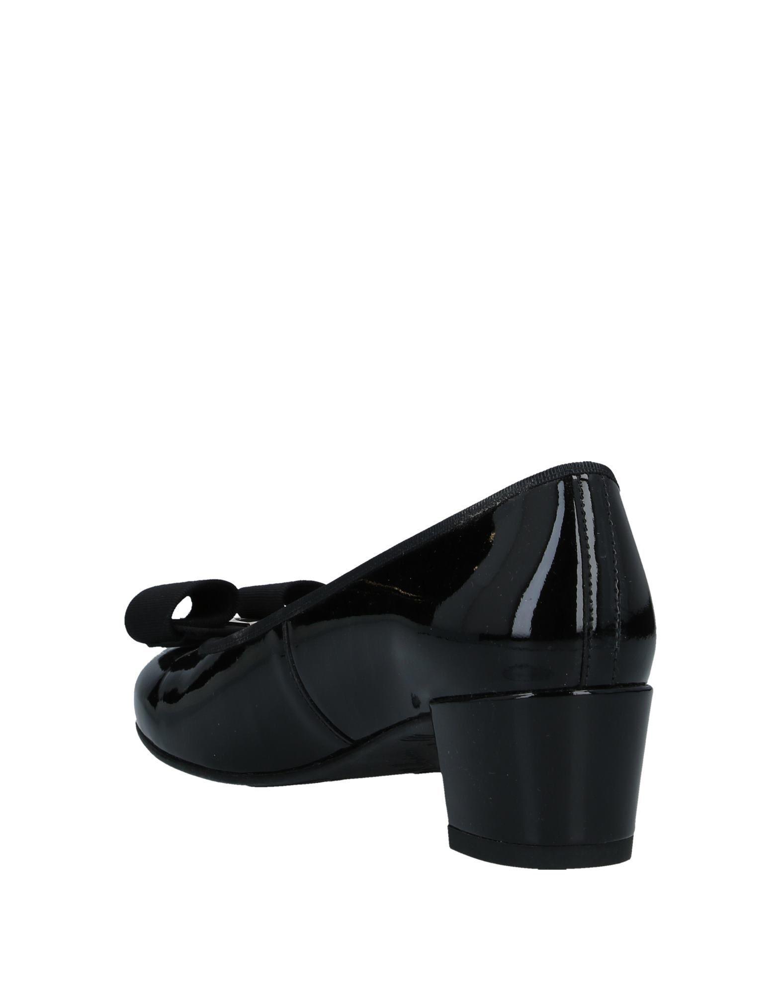 Zapatos de salón Pretty Ballerinas de Caucho de color Negro