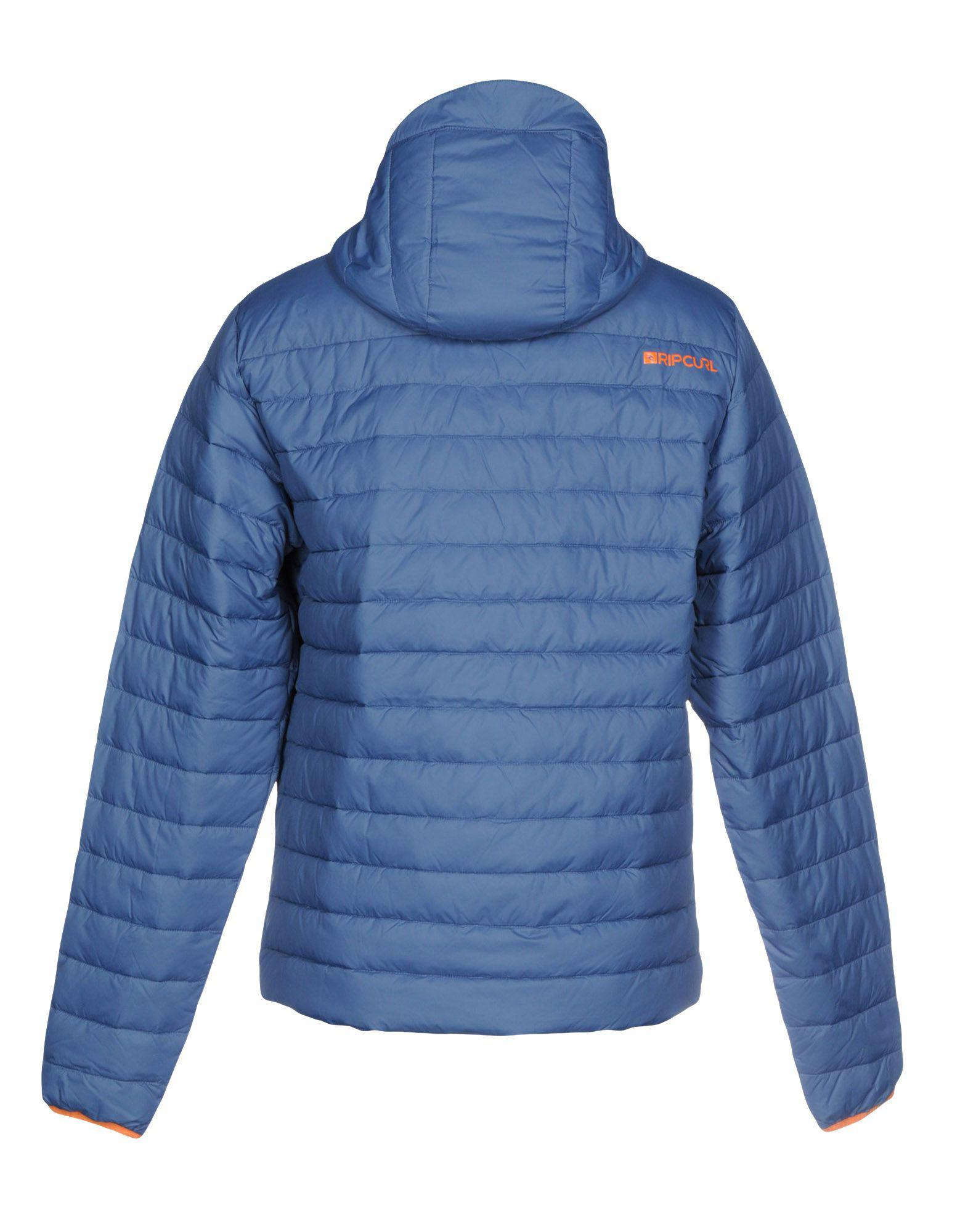 Rip Curl Goose Down Jacket in Blue for Men