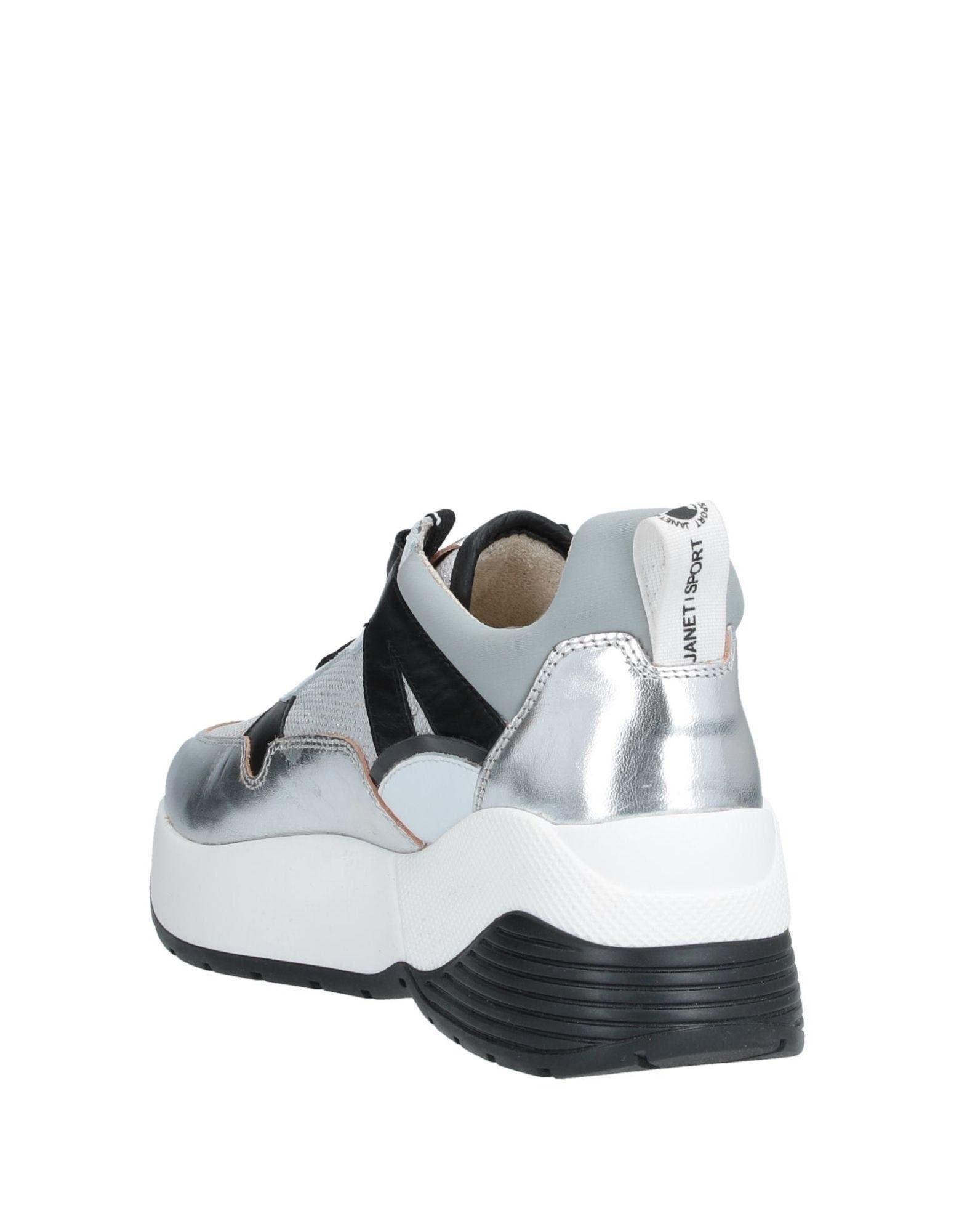 Sneakers & Deportivas Janet & Janet de Caucho de color Metálico