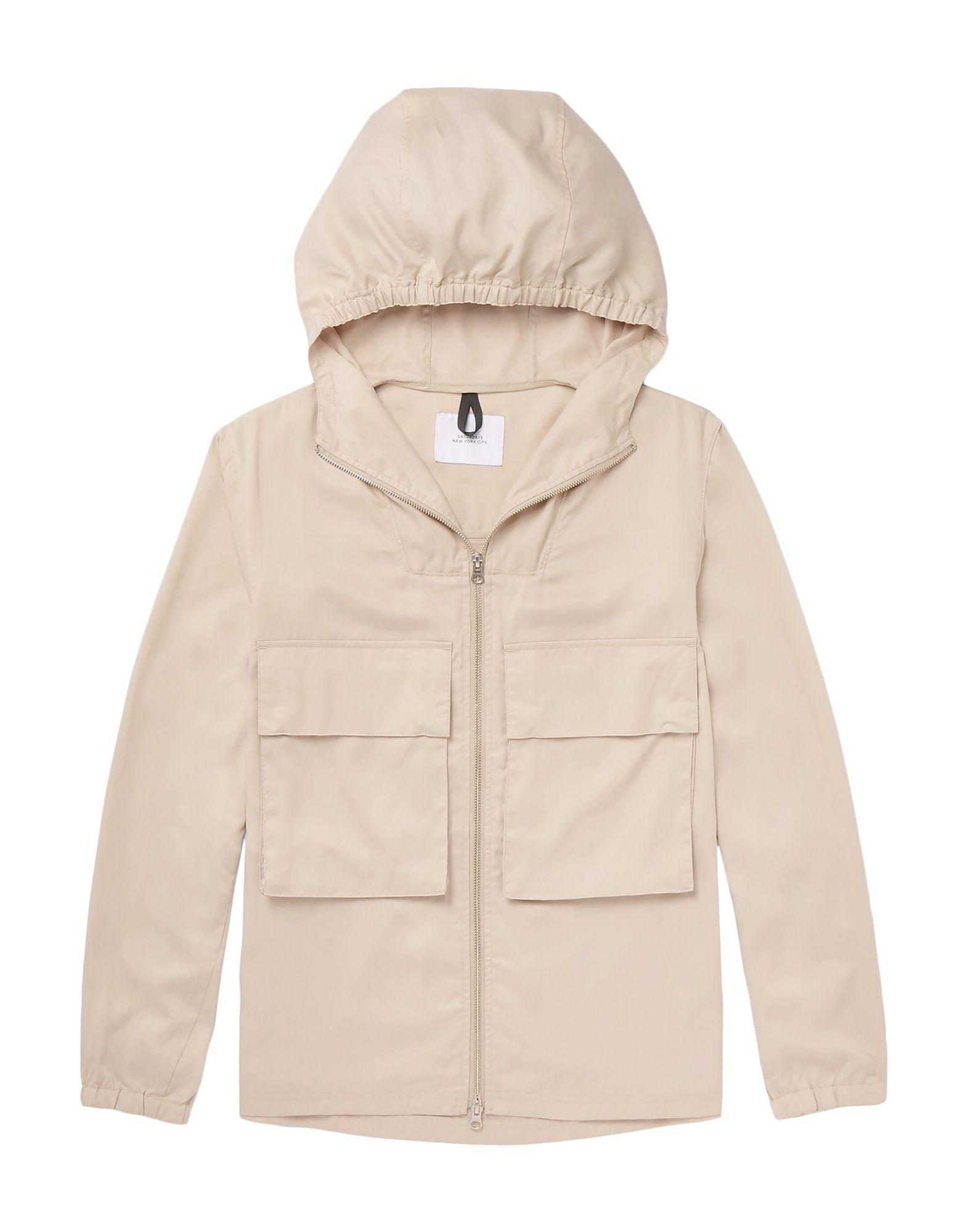 f341172d62a0 Lyst - Saturdays New York City Jacket in Natural for Men