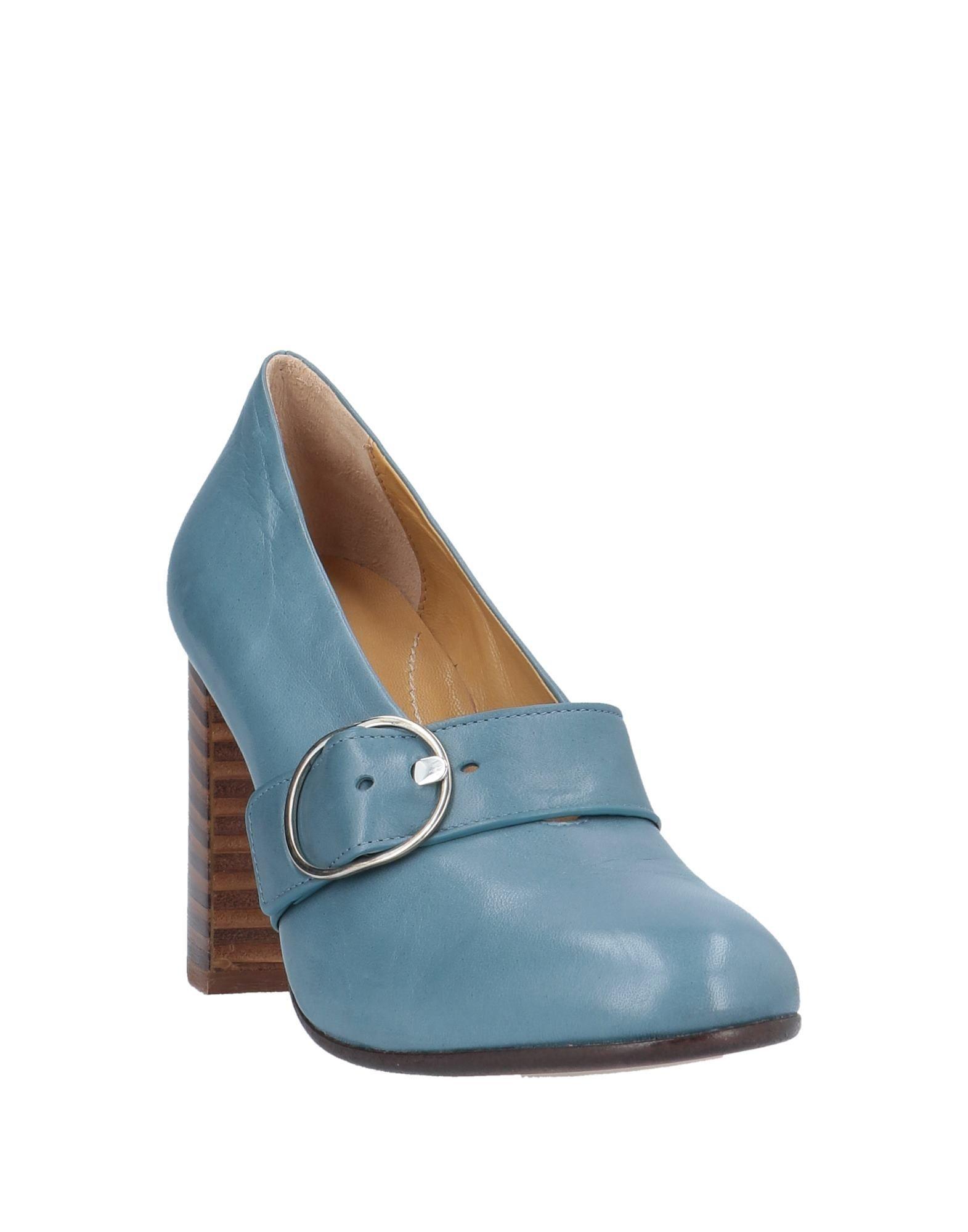 Zapatos de salón Pomme D'or de Cuero de color Azul