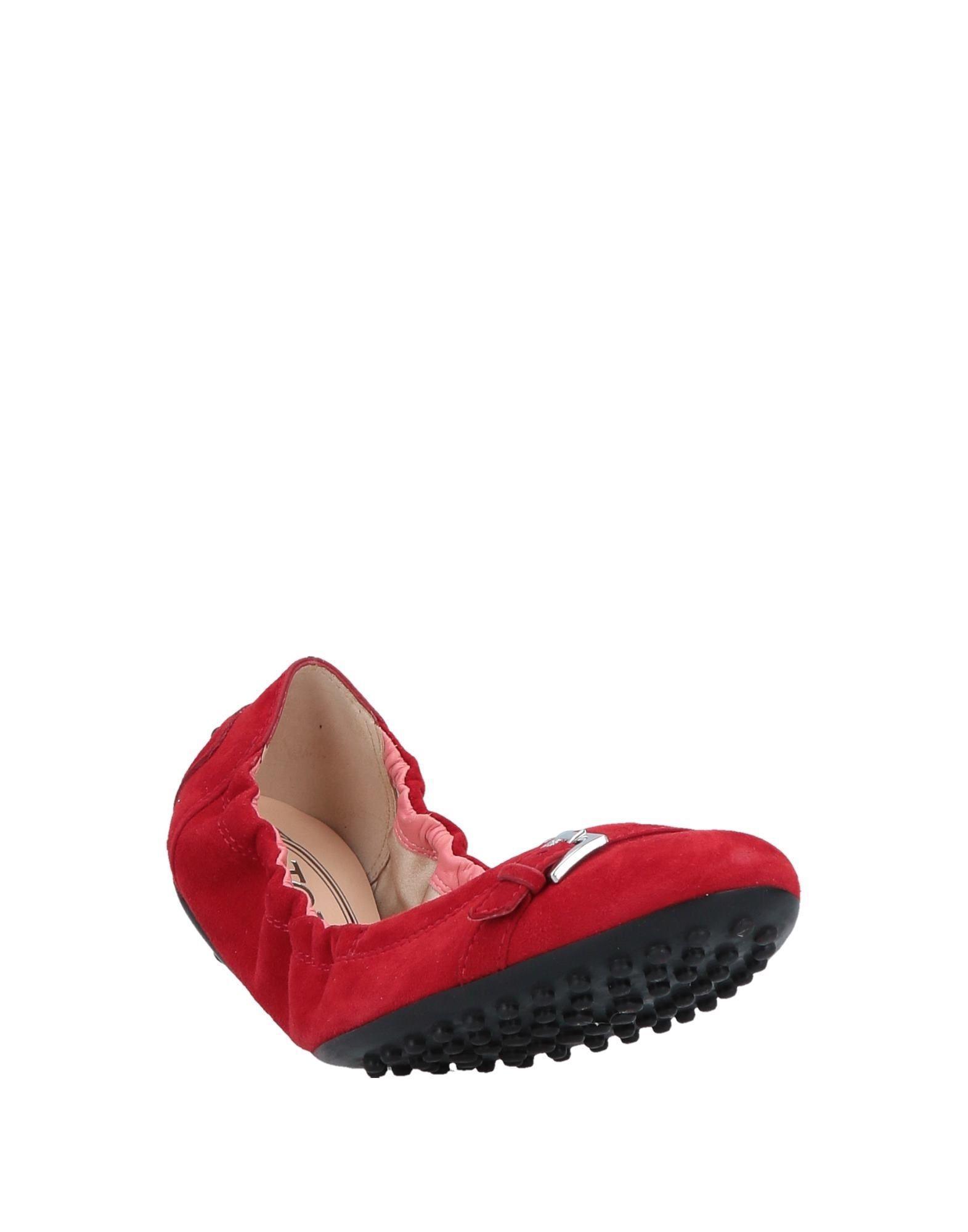 Bailarinas Tod's de color Rojo