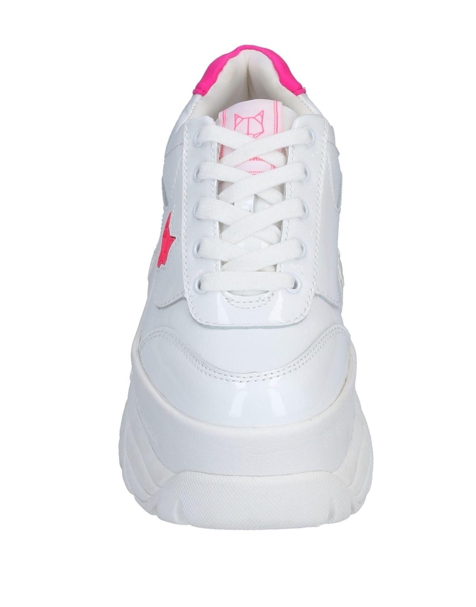 Sneakers & Deportivas Naked Wolfe de Caucho de color Blanco
