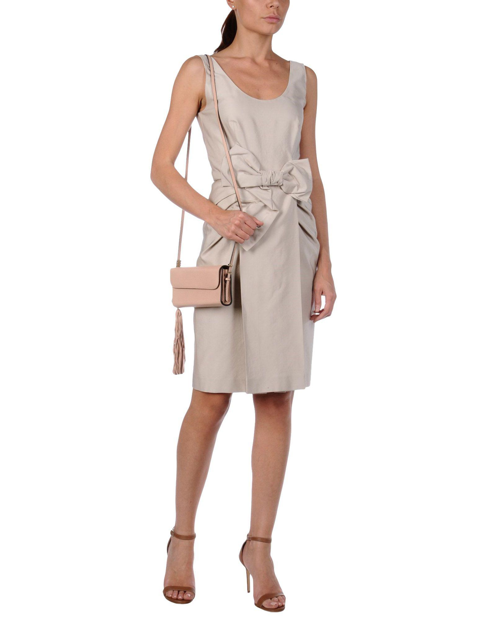 Ermanno Scervino Leather Cross-body Bag in Pale Pink (Pink)