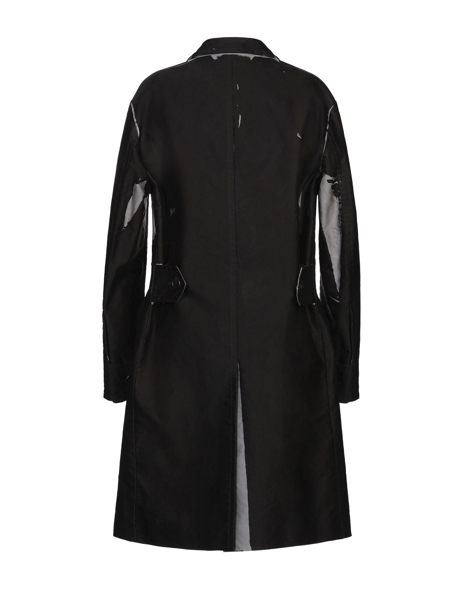 Manteau long Coton Prada en coloris Noir SyV3h