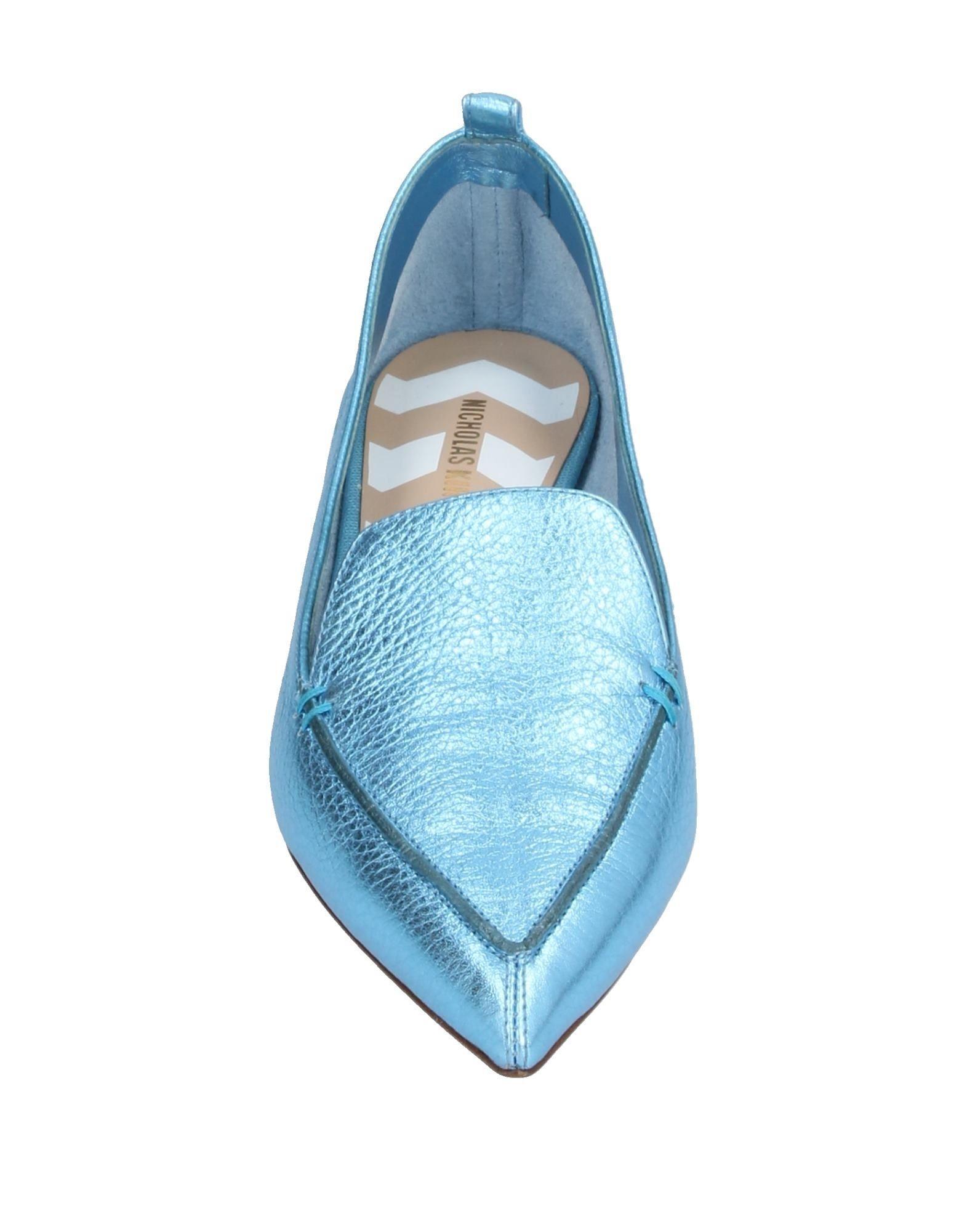 Mocasines Nicholas Kirkwood de Cuero de color Azul