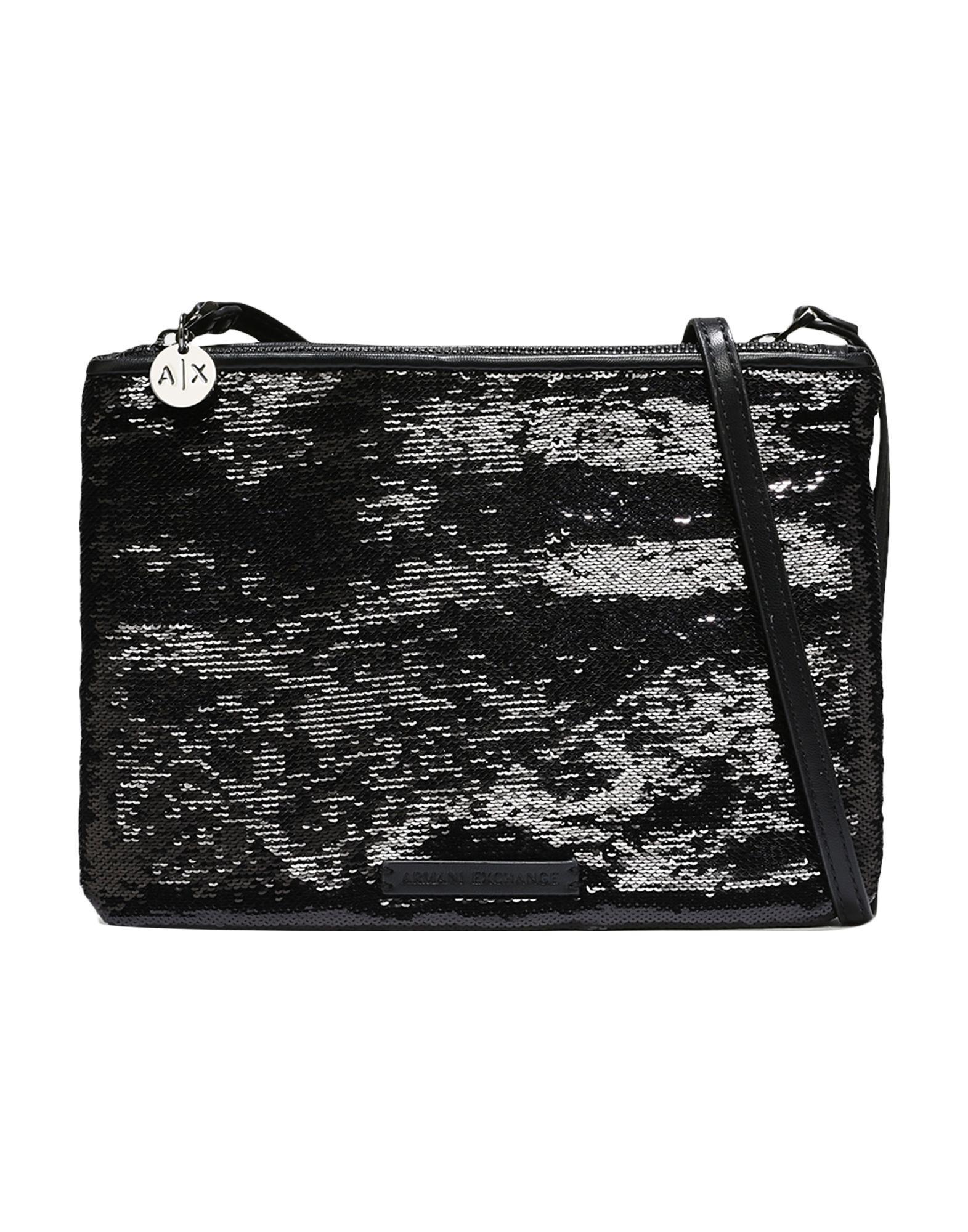 a7840cb44ff6 Lyst - Armani Exchange Shoulder Bag in Black