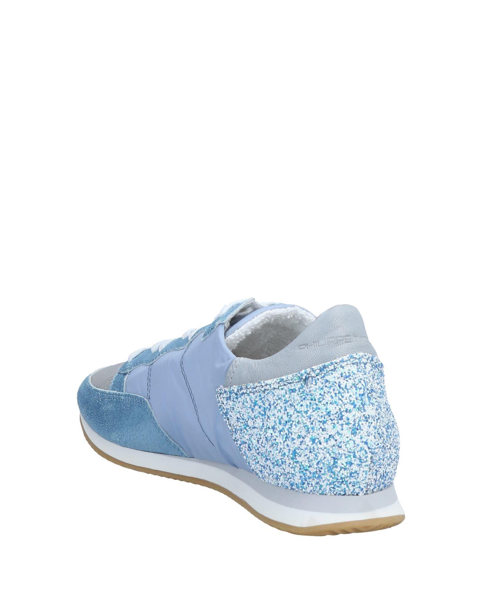 Sneakers & Deportivas Philippe Model de Cuero de color Azul