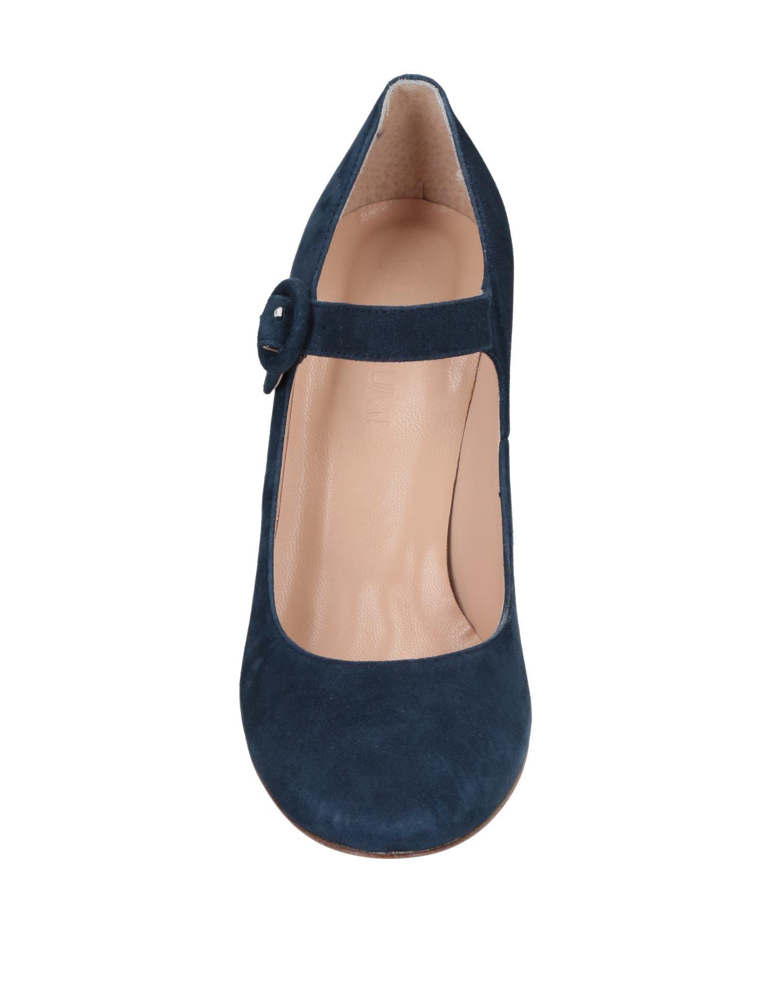 Zapatos de salón Piumi de Cuero de color Azul