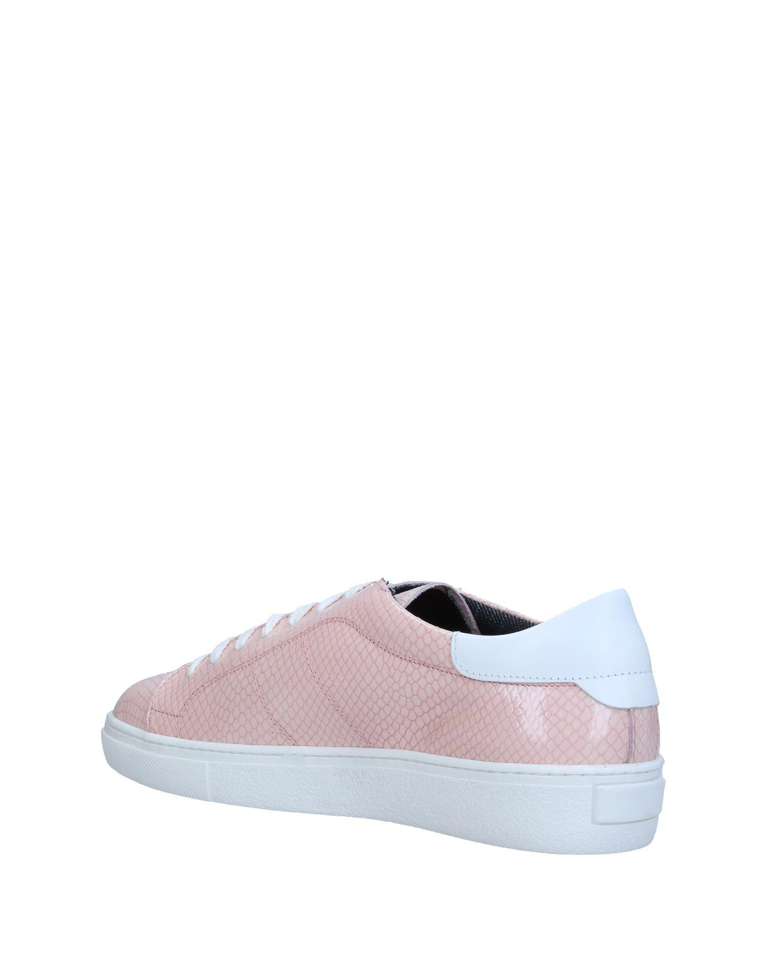 Gianmarco Lorenzi Leather Low-tops & Sneakers in Pink
