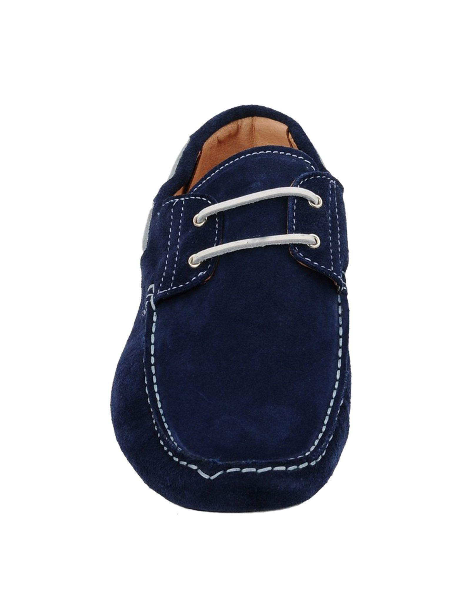 8 Suede Loafers in Dark Blue (Blue) for Men