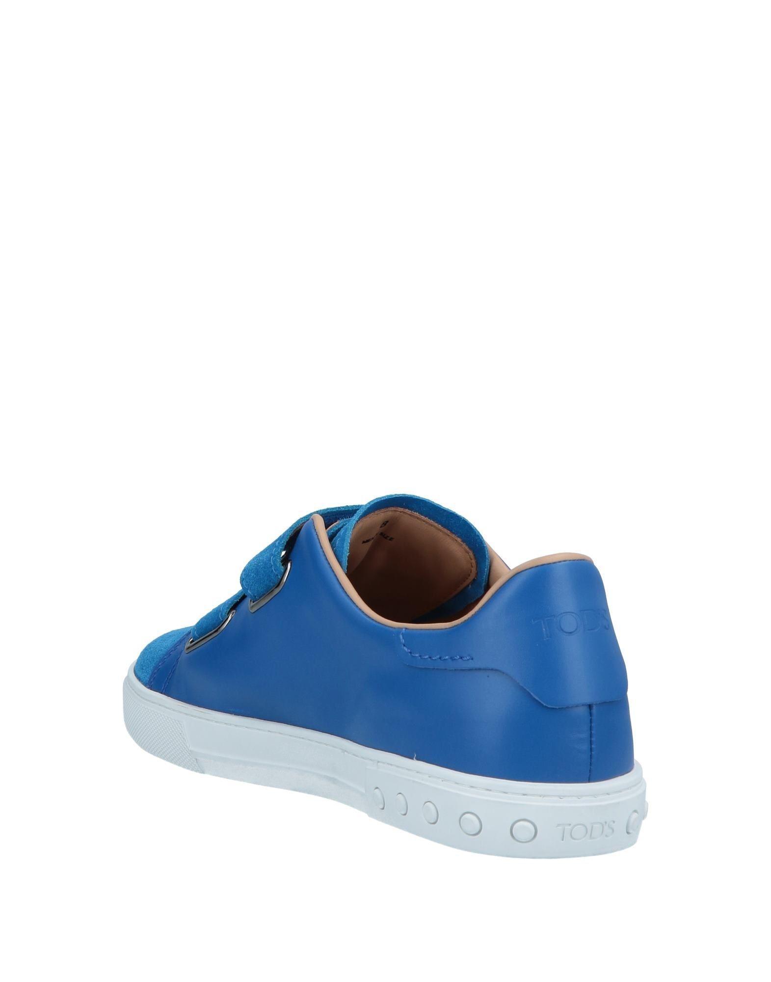 Sneakers & Tennis basses Cuir Tod's pour homme en coloris Bleu detu