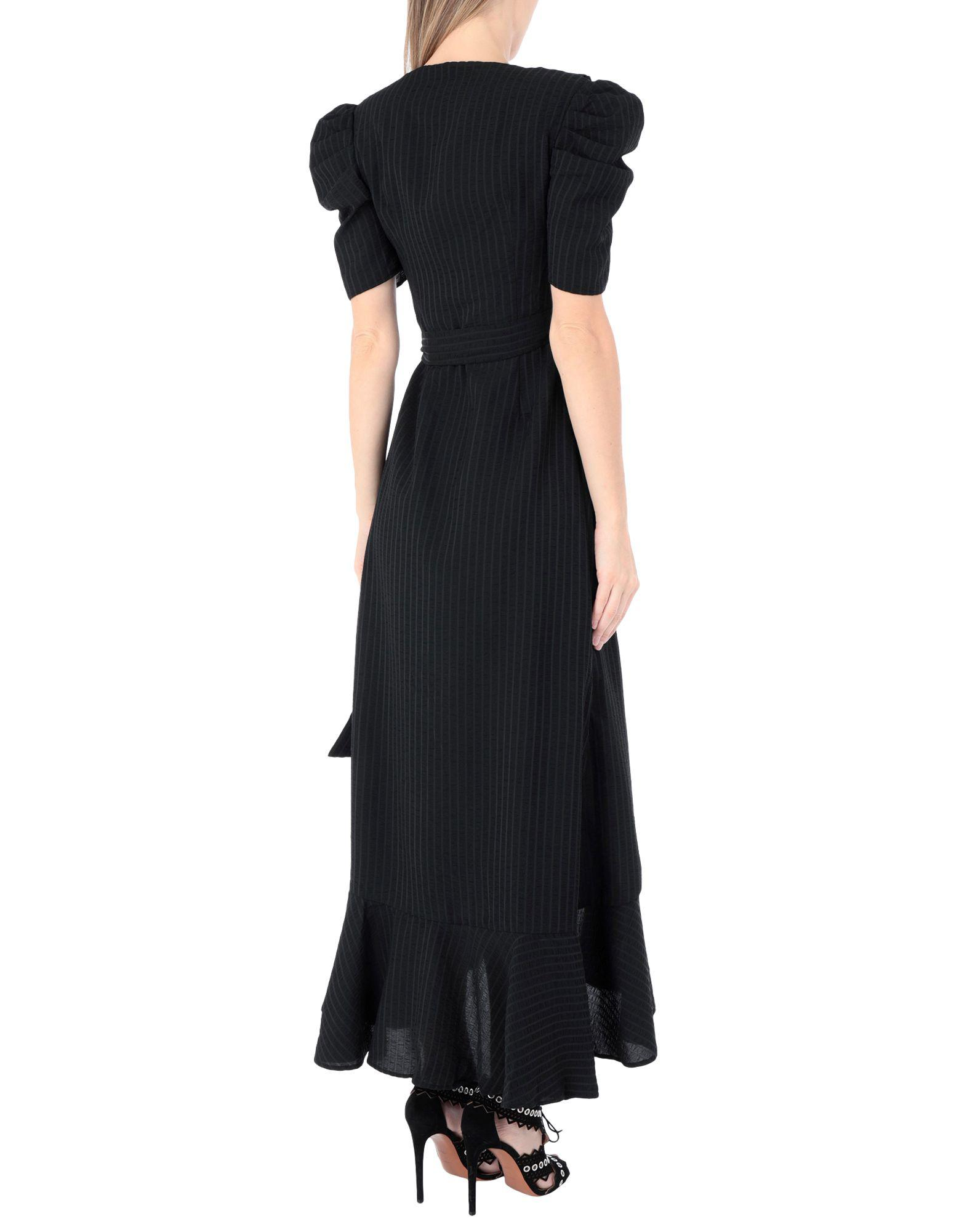 fcbcd70d1823 Lyst - C Meo Collective Long Dress in Black