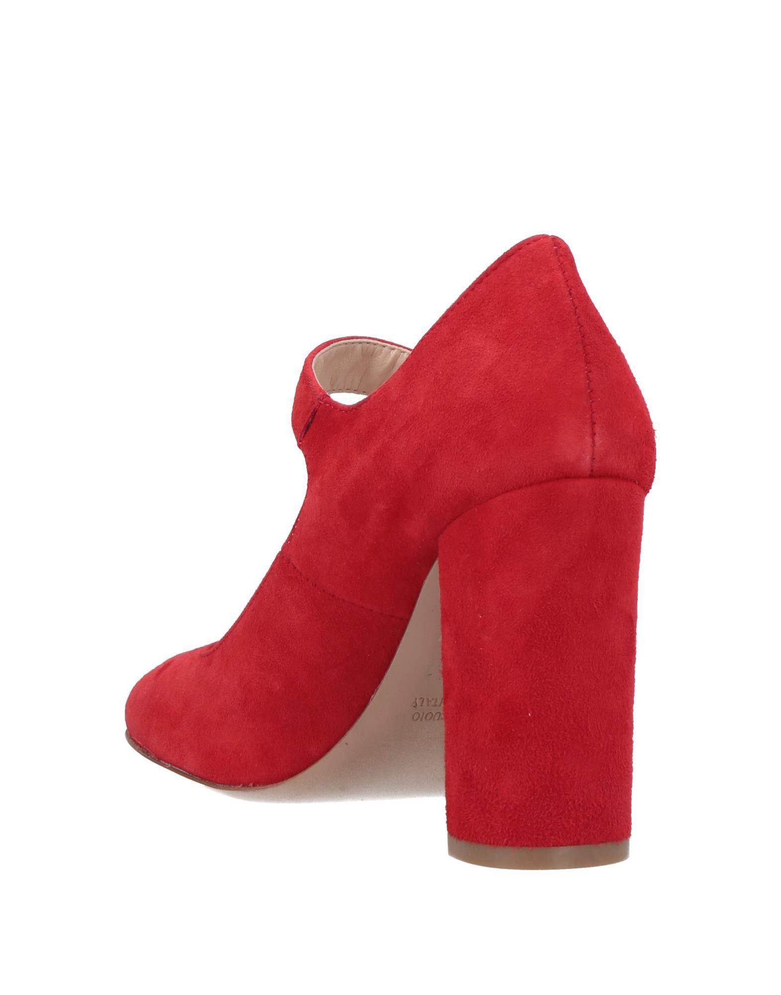 Zapatos de salón Piumi de Cuero de color Rojo