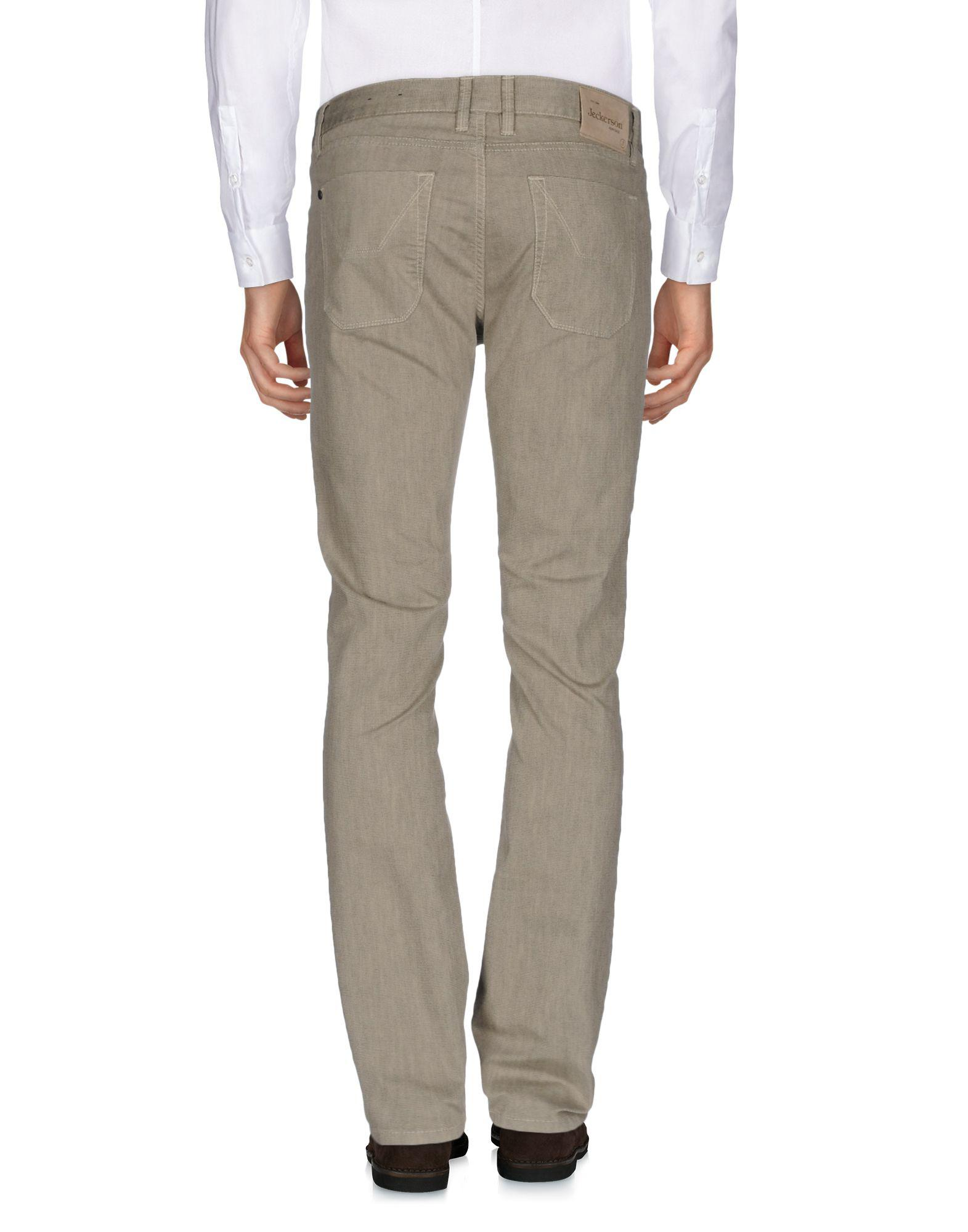 Jeckerson Cotton Casual Pants in Beige (Natural) for Men