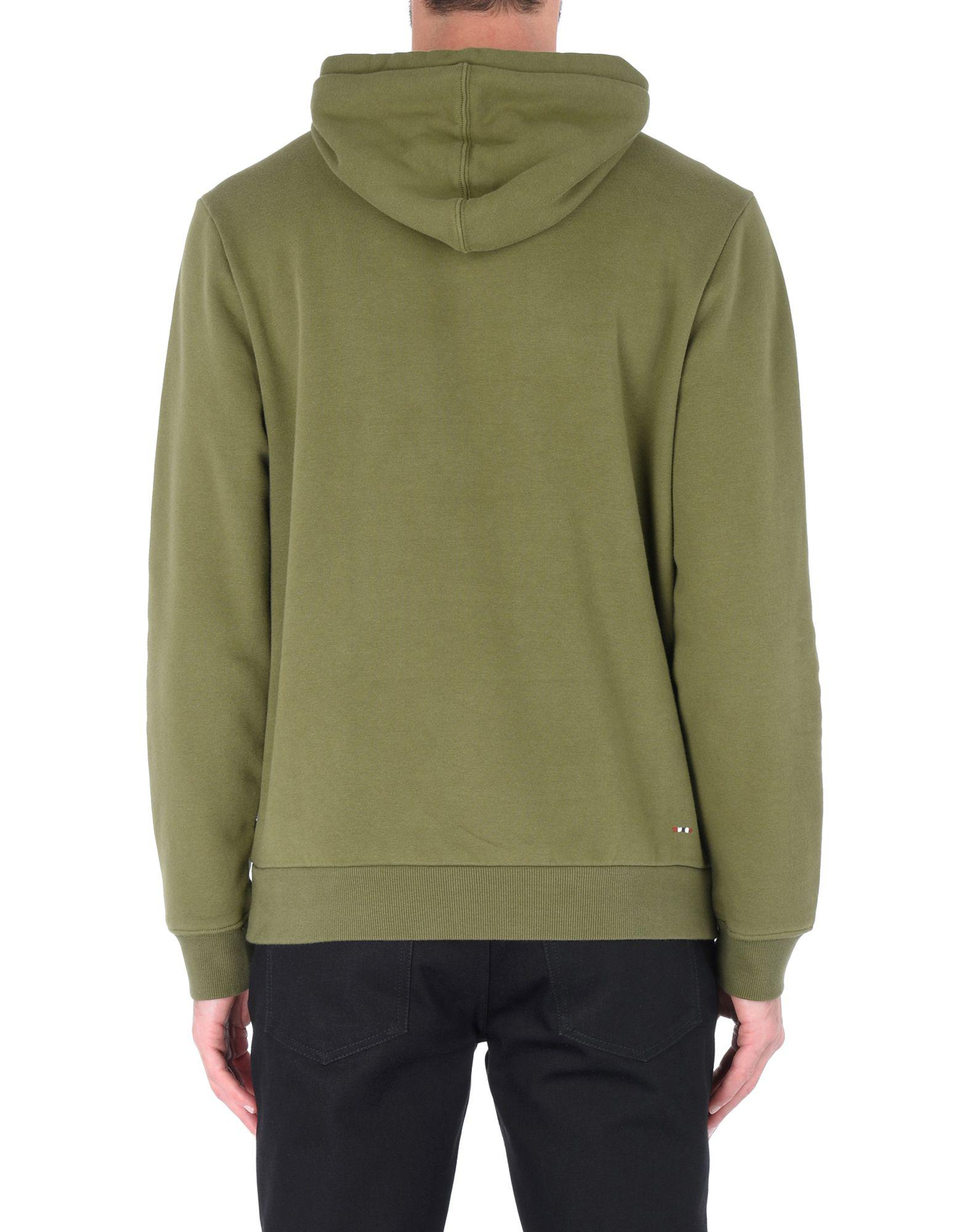 Napapijri Fleece Sweatshirt in Military Green (Green) for Men - Save 19%
