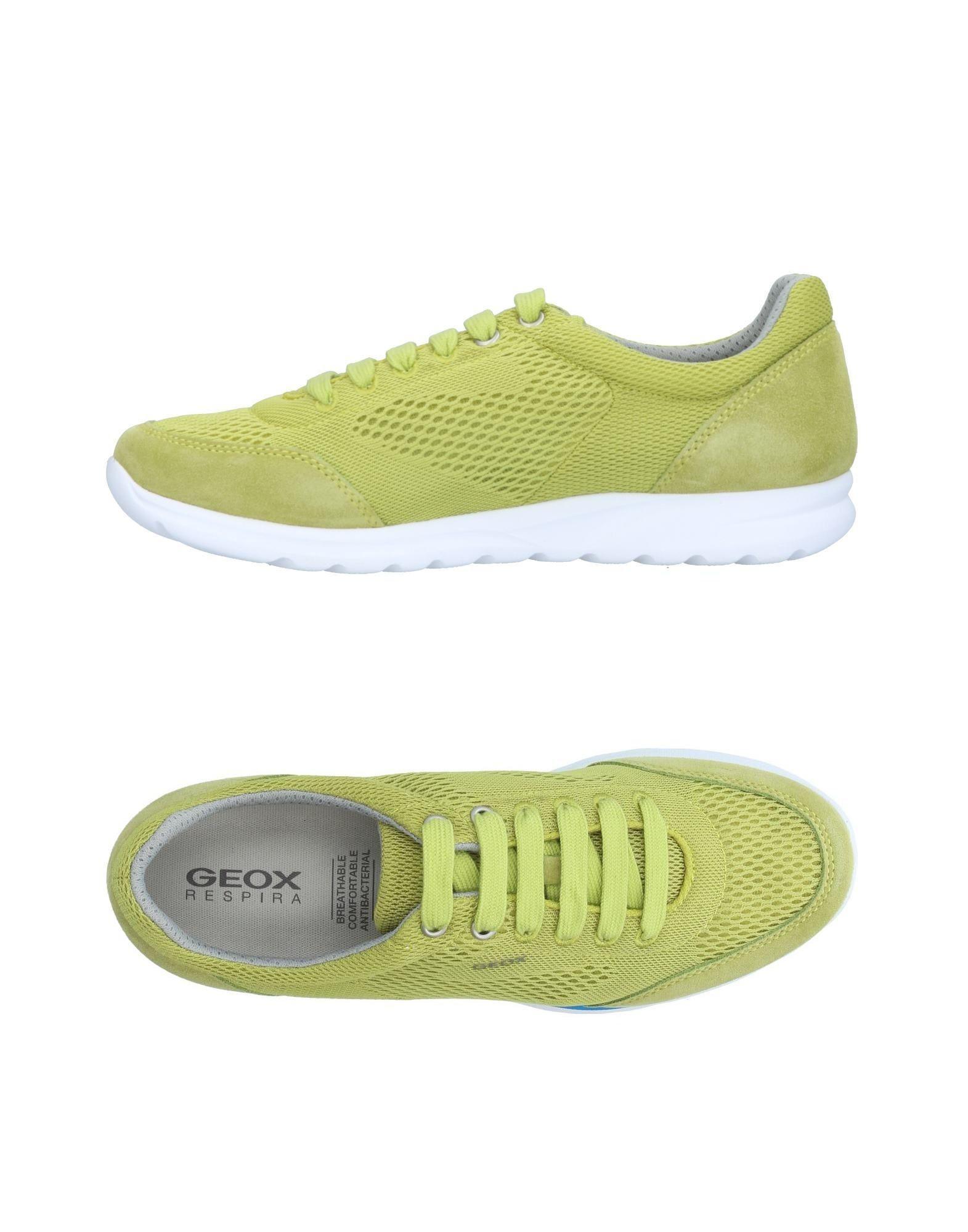 Geox Chaussures De Sport Haut Bas - Vert ynQtX7IG