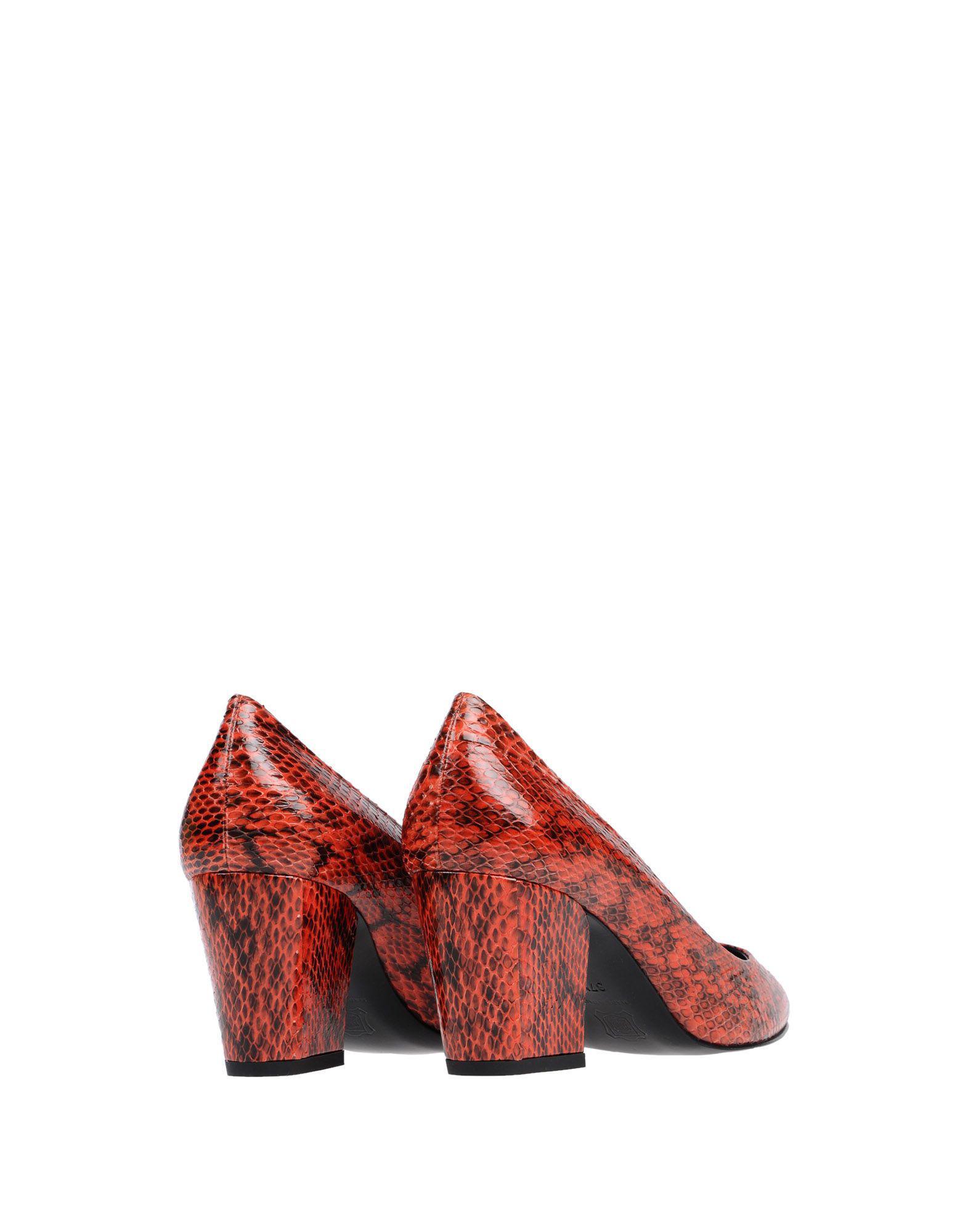 Zapatos de salón Pierre Hardy de Cuero de color Rojo