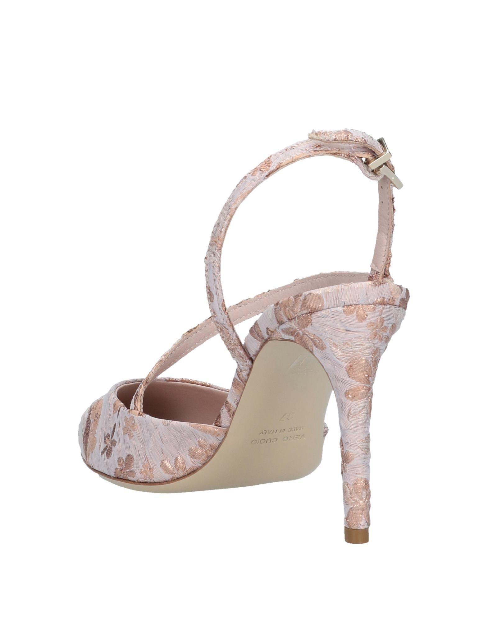 Zapatos de salón Giancarlo Paoli de Cuero de color Rosa
