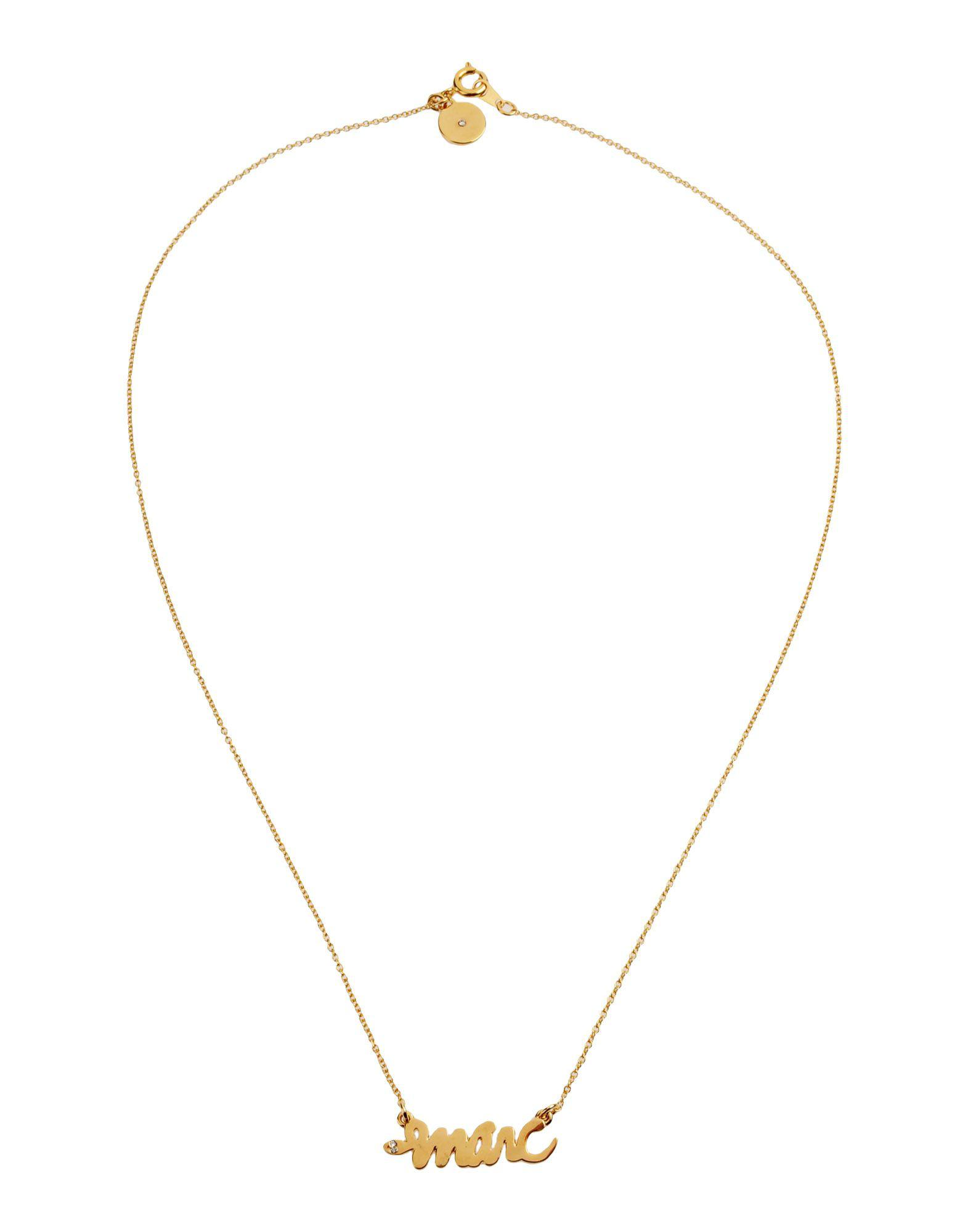 Marc By Marc Jacobs Necklace in Gold (Metallic)